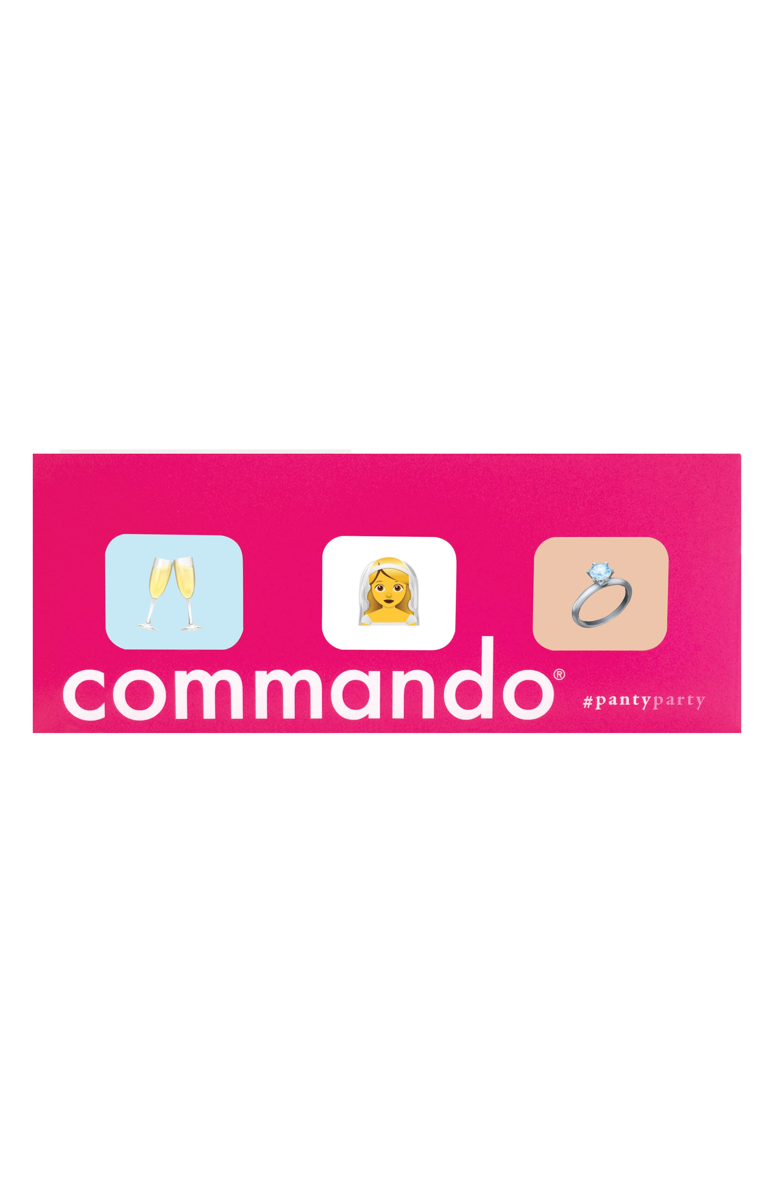 Commando Panty Party - Wedding 3-Pack Thongs