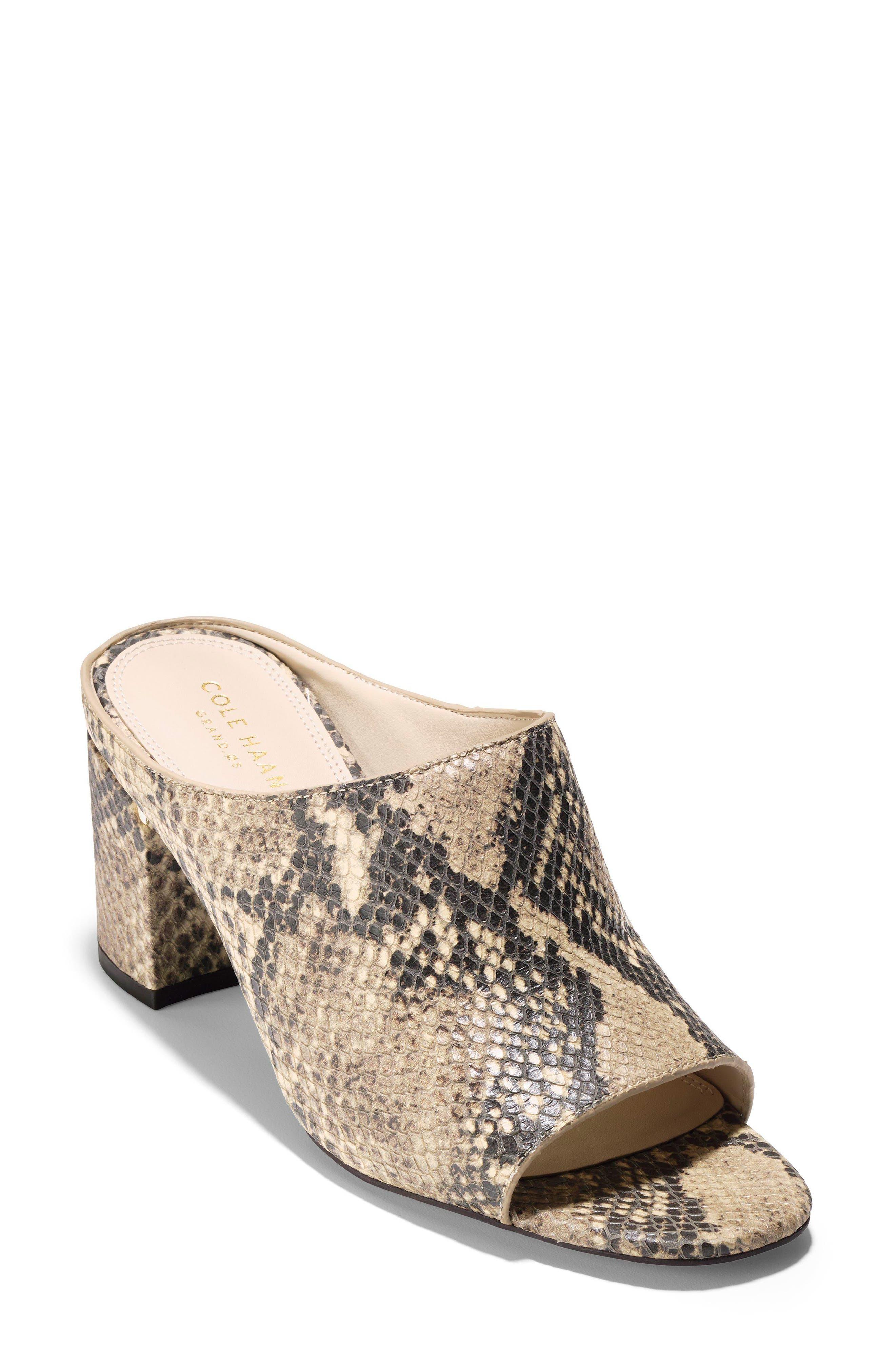 Laree Sandal,                         Main,                         color, Roccia Print Leather