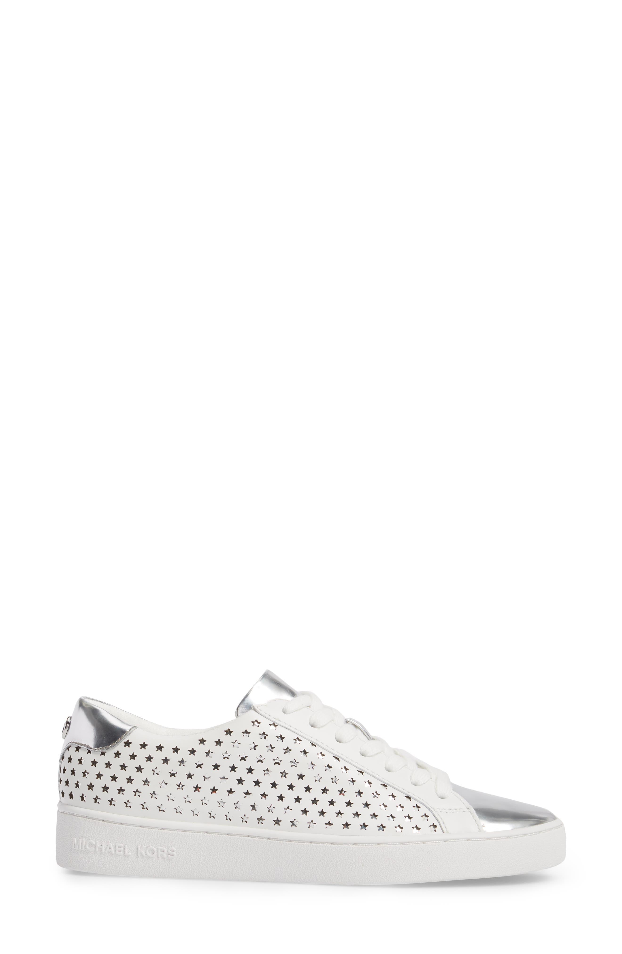 Irving Sneaker,                             Alternate thumbnail 3, color,                             Optic White