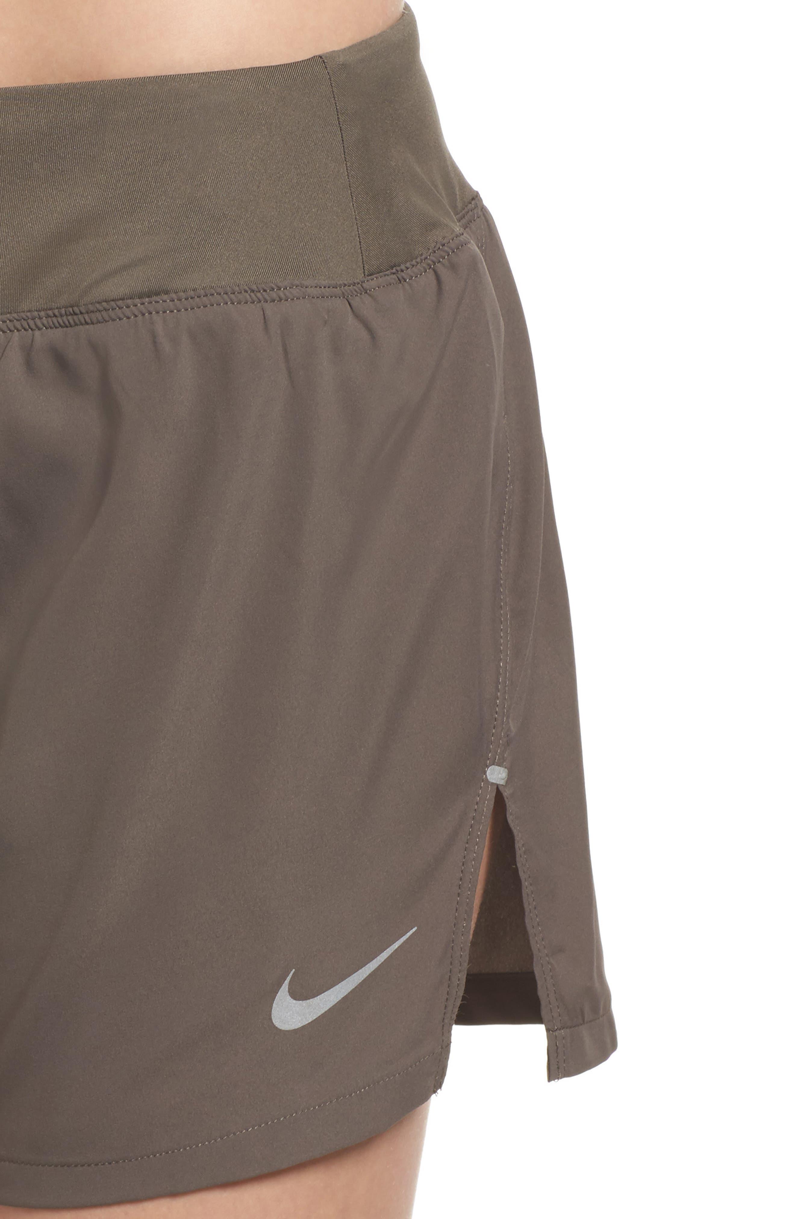 Flex Dri-FIT Running Shorts,                             Alternate thumbnail 4, color,                             Ridgerock