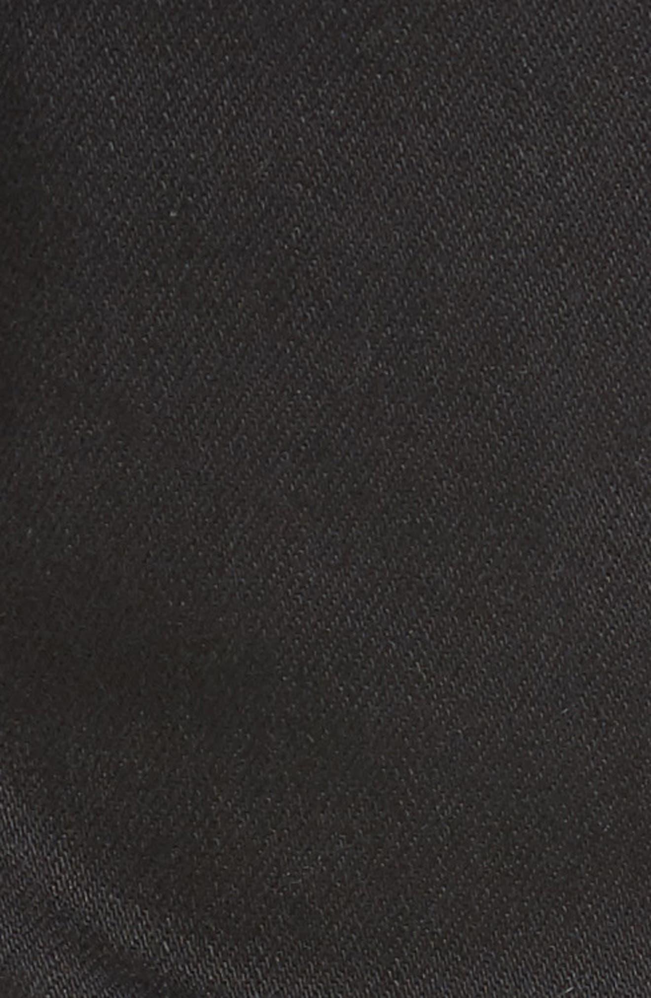 Joe Blow Destroyed Denim Jeans,                             Alternate thumbnail 5, color,                             Black Shred