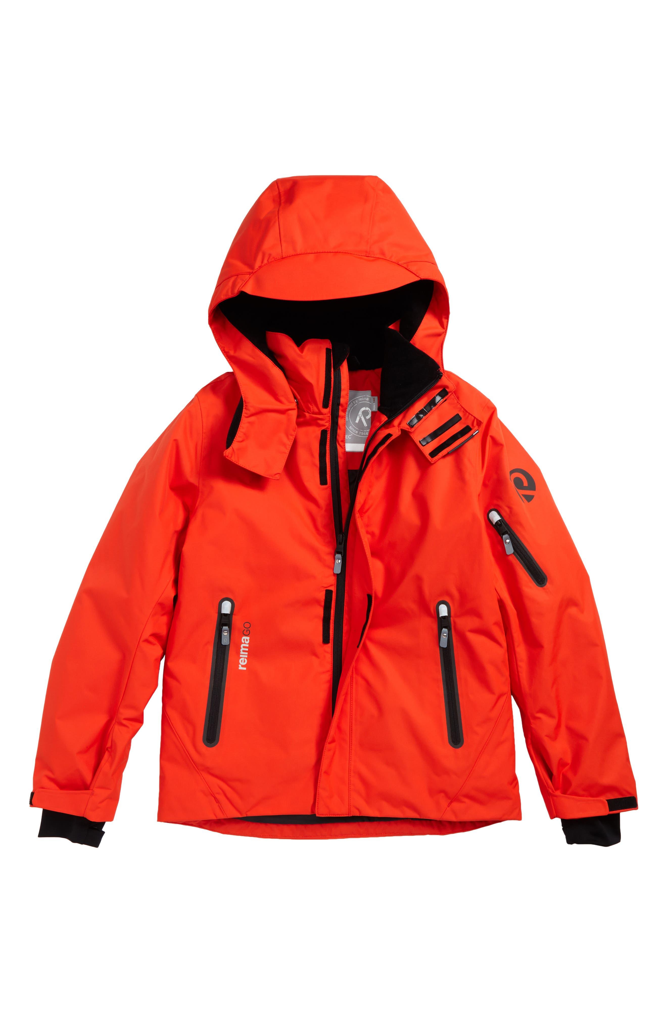 Alternate Image 1 Selected - Reima Reimatec® Wheeler Waterproof Hooded Jacket (Big Boys)