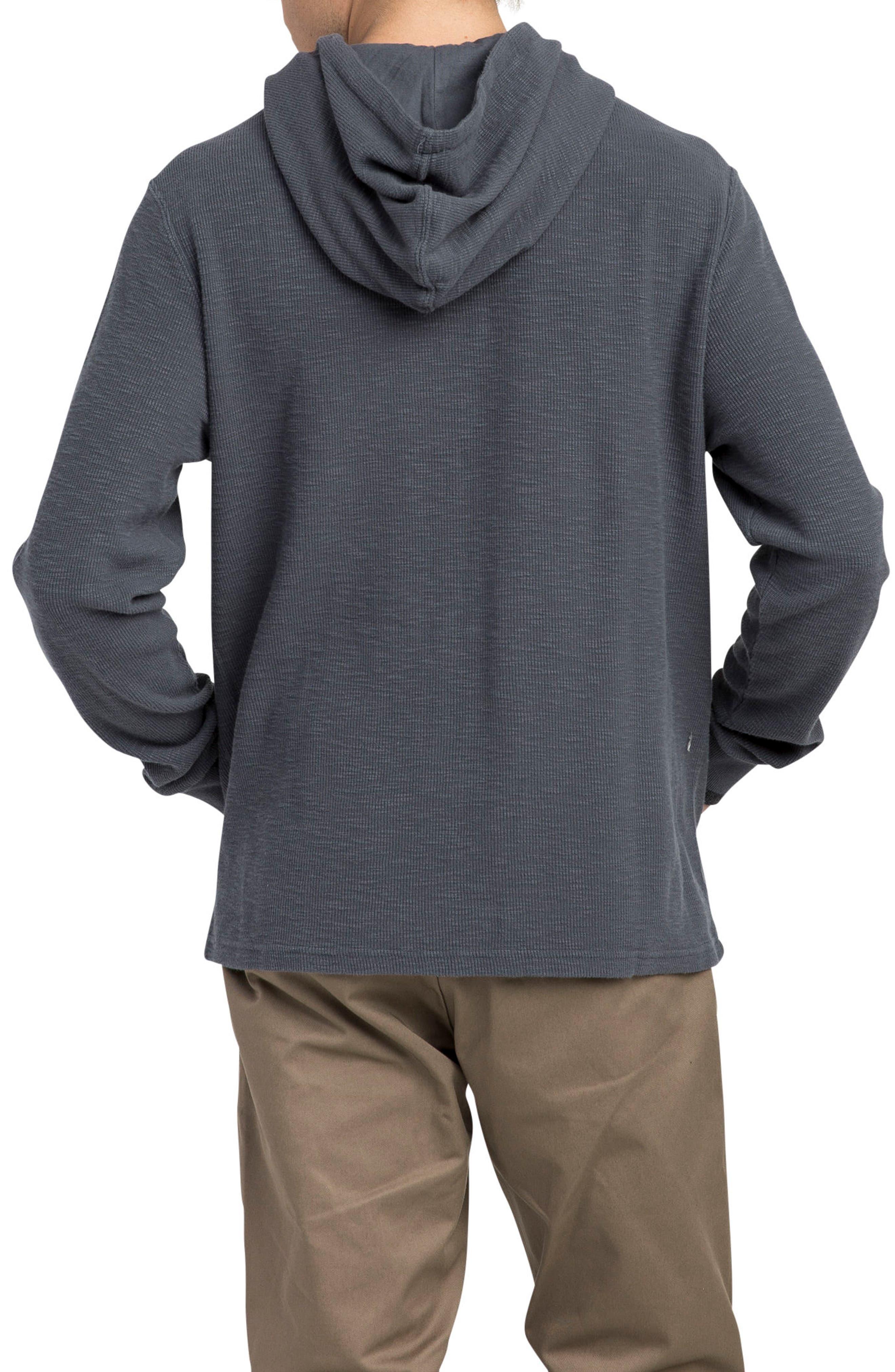 Copa Hooded Henley Pullover,                             Alternate thumbnail 2, color,                             Slate