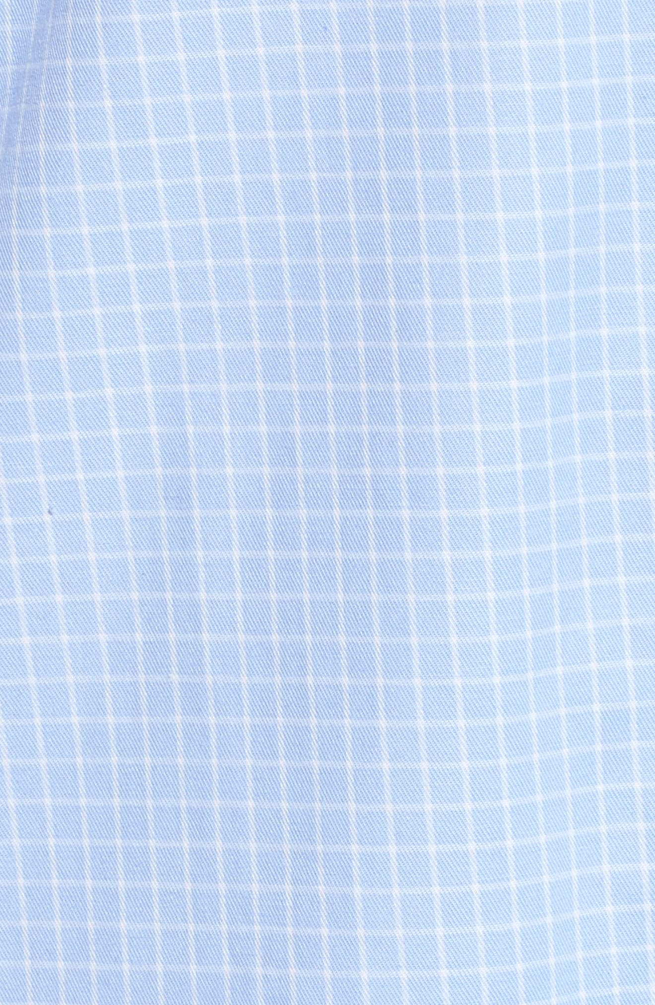 Alternate Image 6  - Lauren Ralph Lauren Stretch Cotton Sleep Shirt