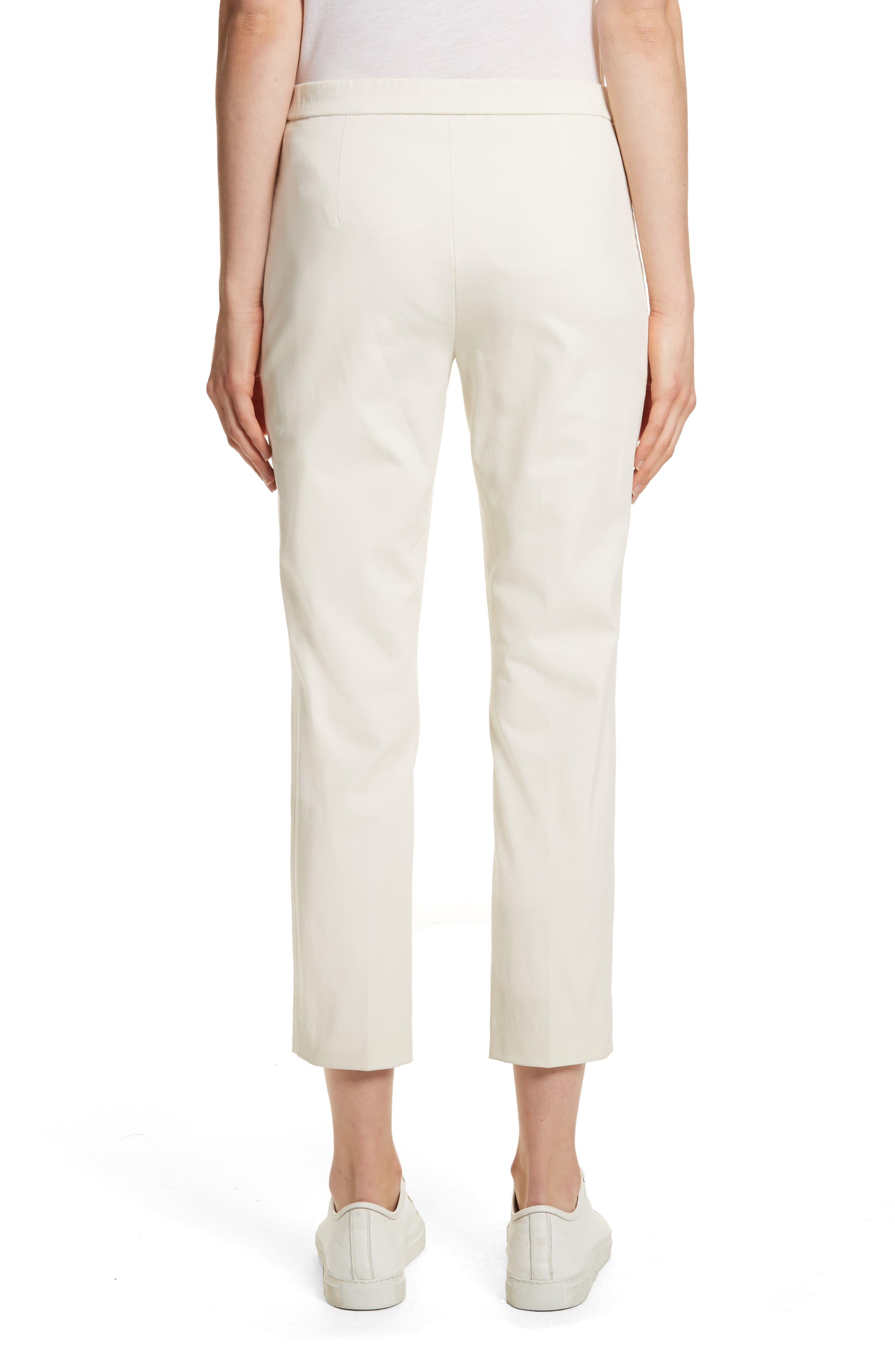 Basic Pull-On Pants,                             Alternate thumbnail 2, color,                             Ivory