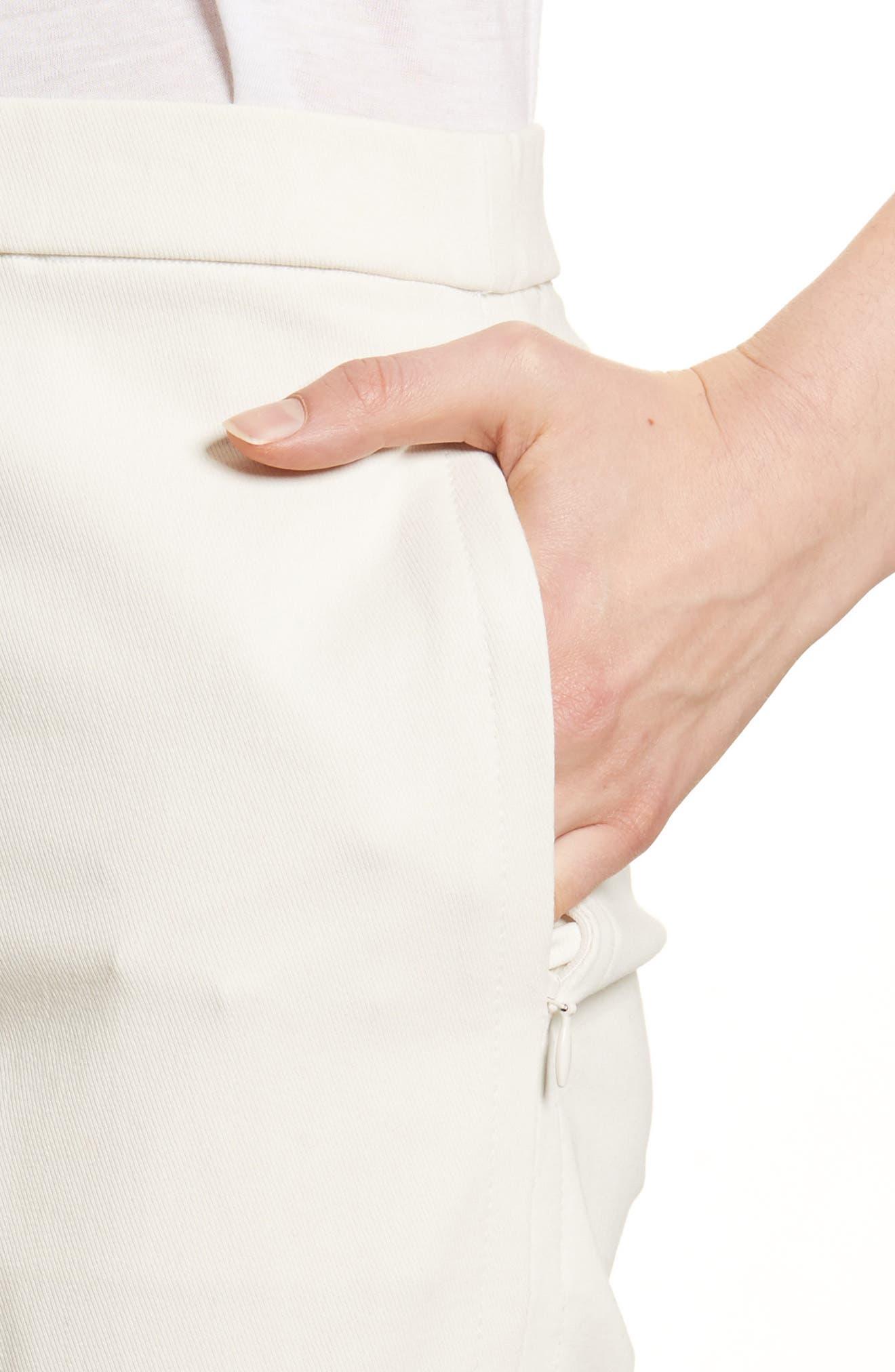 Basic Pull-On Pants,                             Alternate thumbnail 4, color,                             Ivory