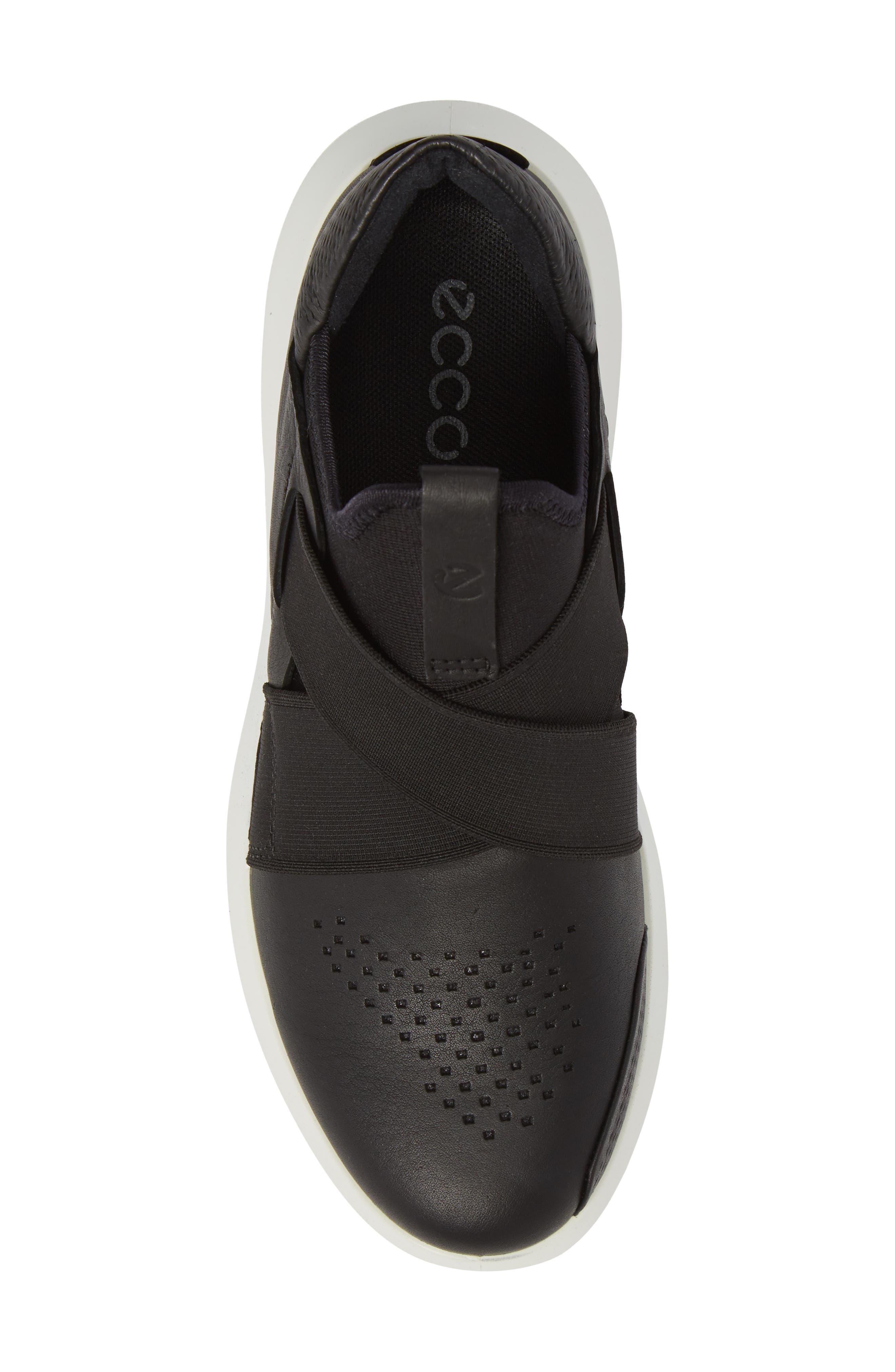 Scinapse Band Sneaker,                             Alternate thumbnail 5, color,                             Black