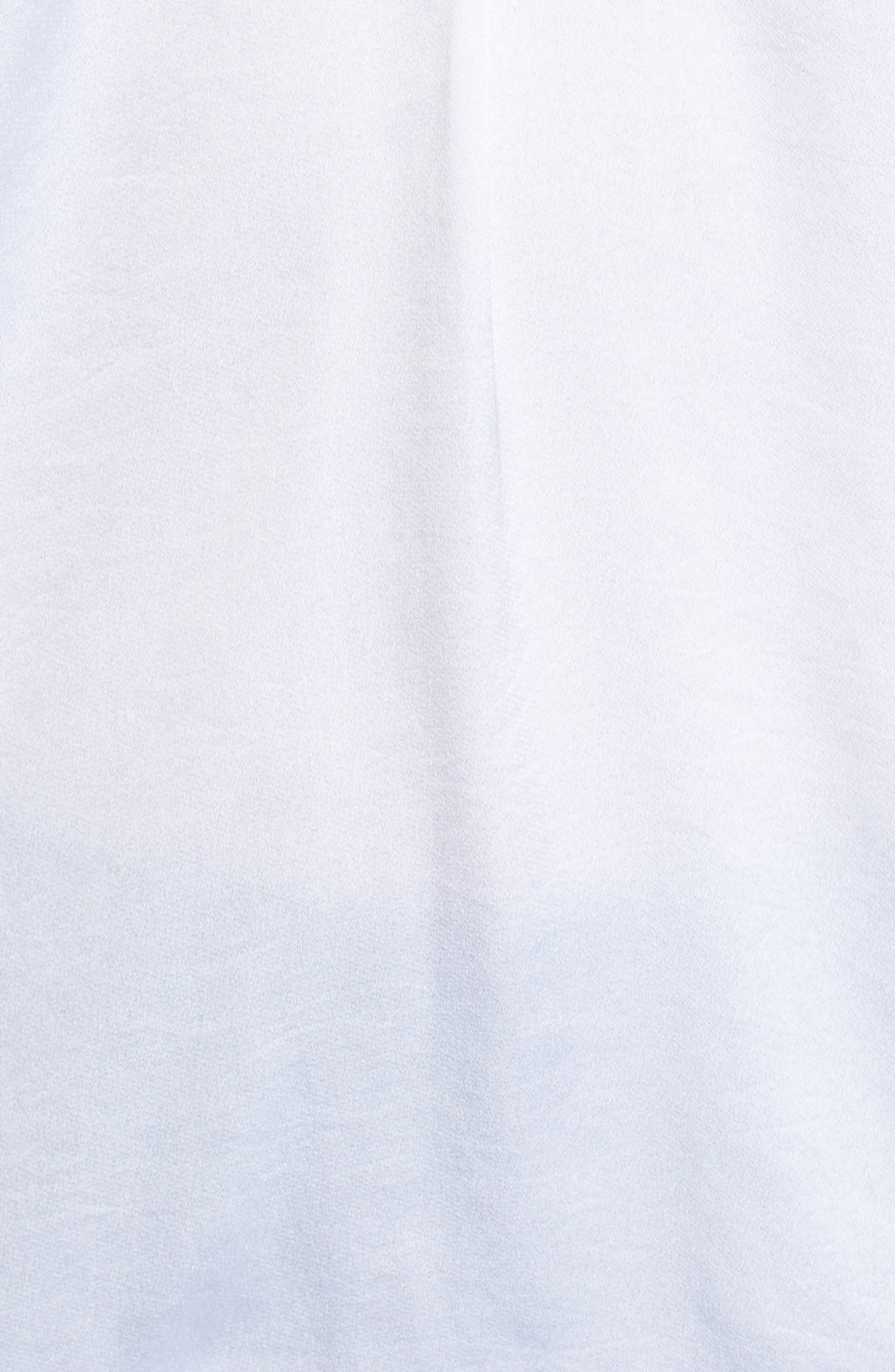 Enisy Tie Neck Top,                             Alternate thumbnail 5, color,                             Vanilla Light