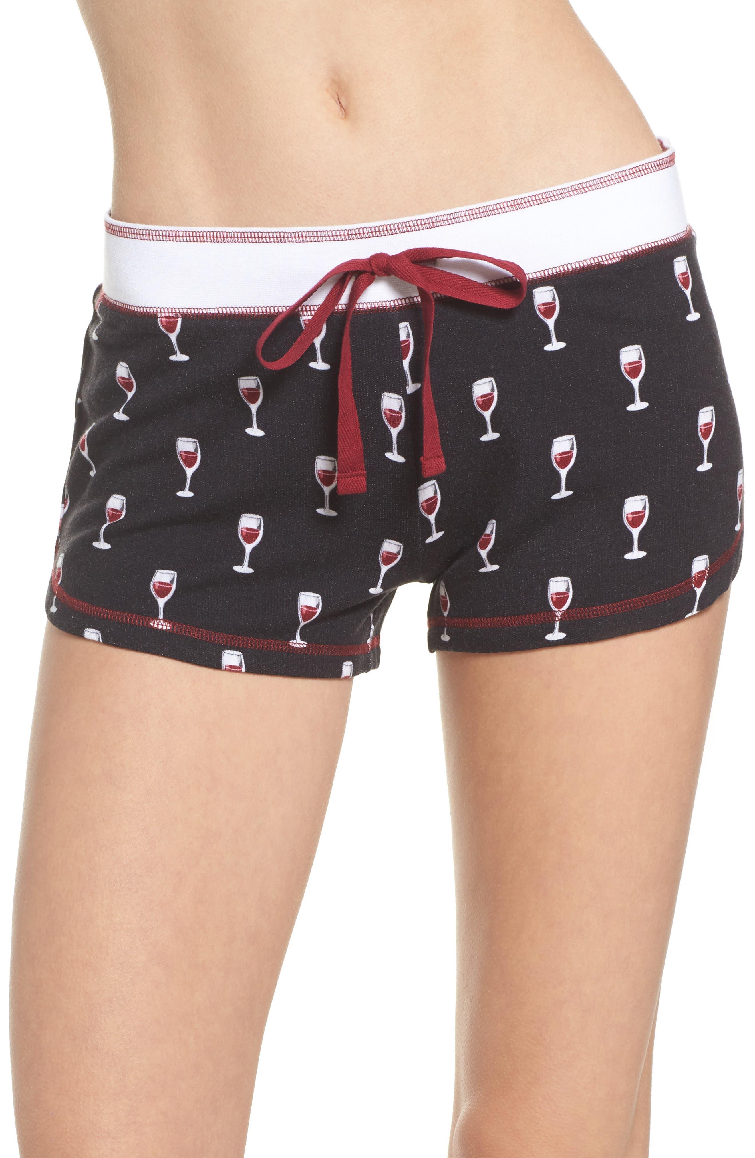 Alternate Image 1 Selected - PJ Salvage Print Pajama Shorts