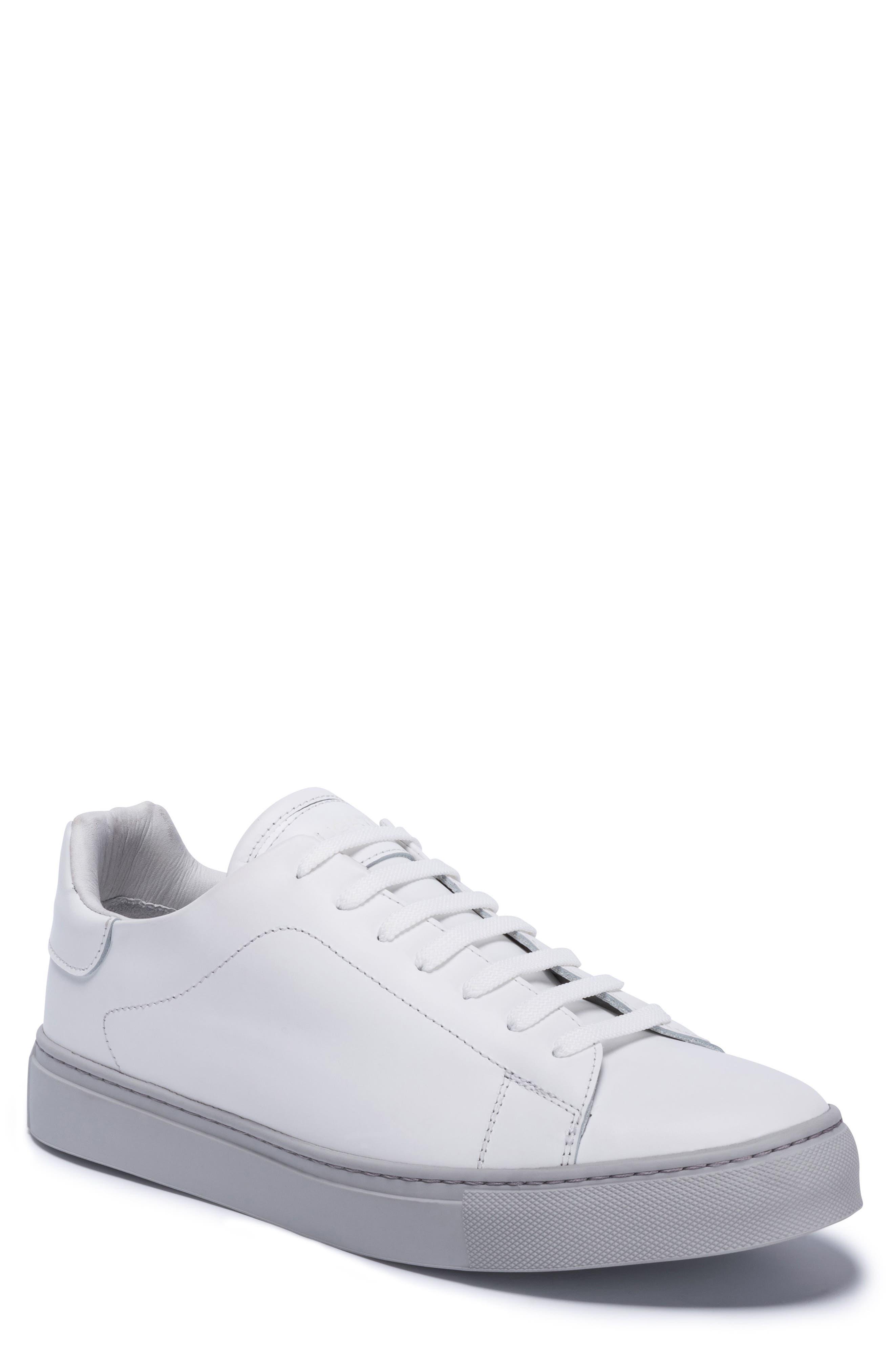 Massa Sneaker,                         Main,                         color, Bianco Leather