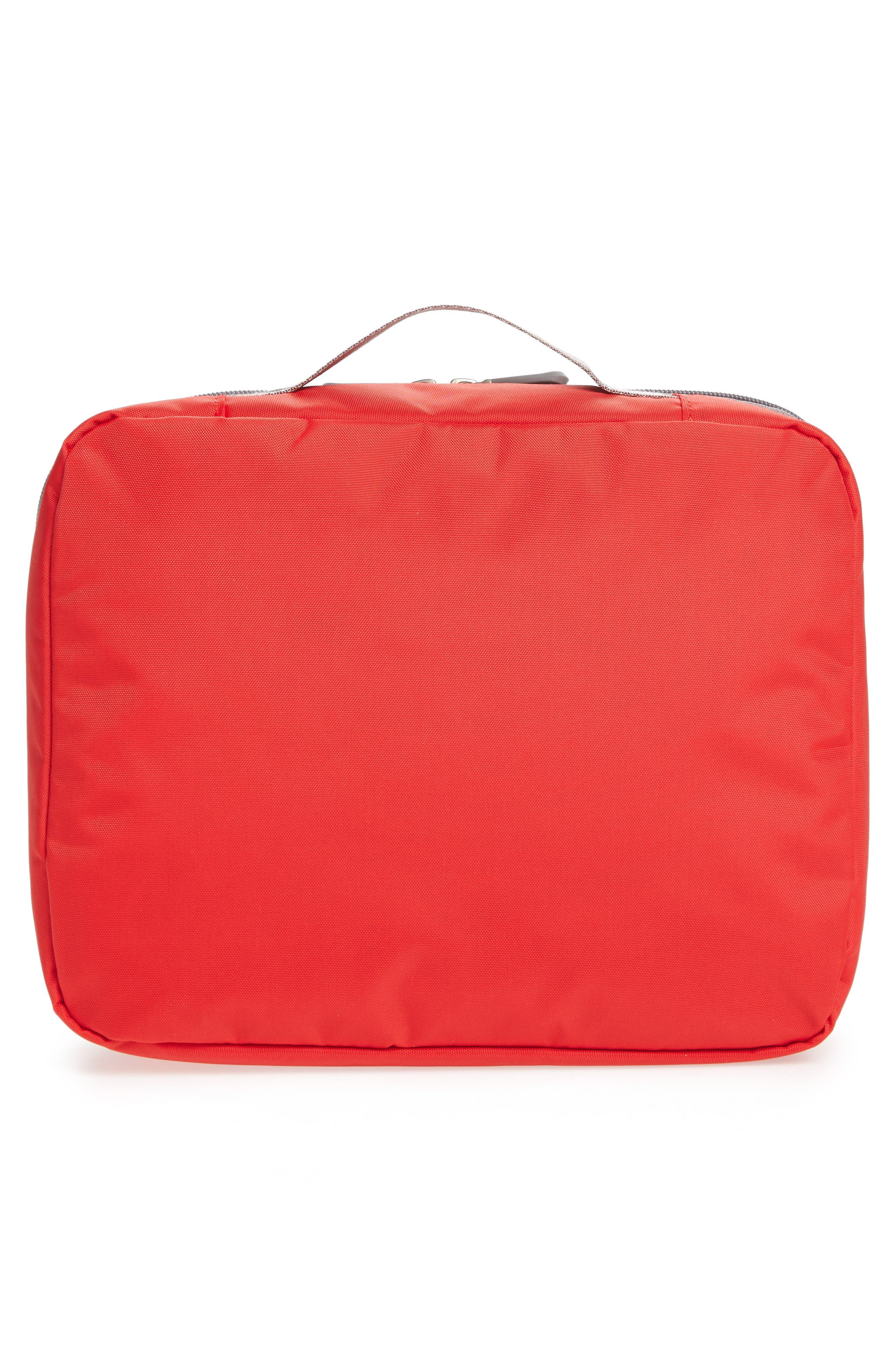 Seat Pak Pro Plane Seat Organizer,                             Alternate thumbnail 2, color,                             Red