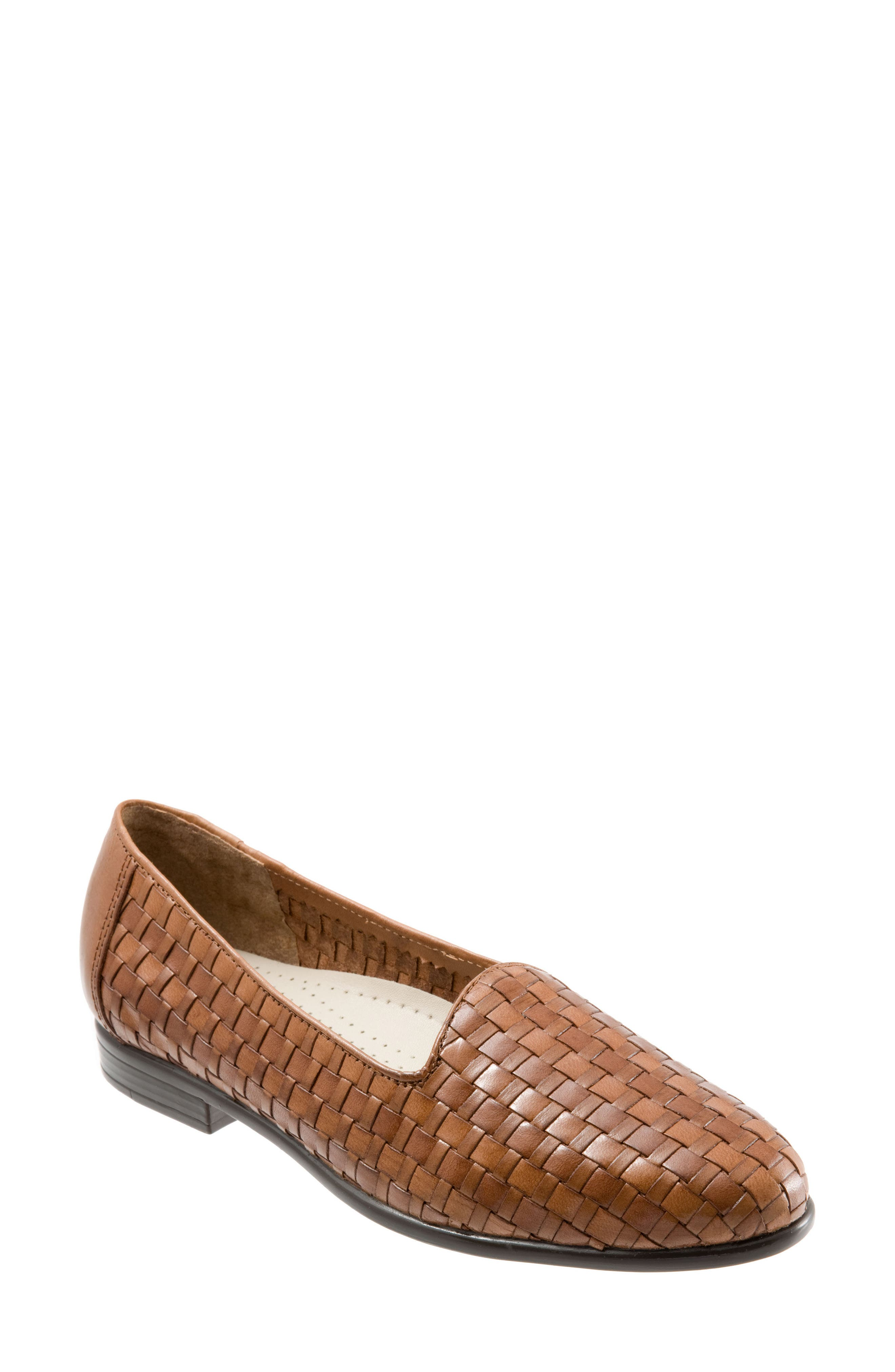 Slip-On,                         Main,                         color, Light Tan Leather