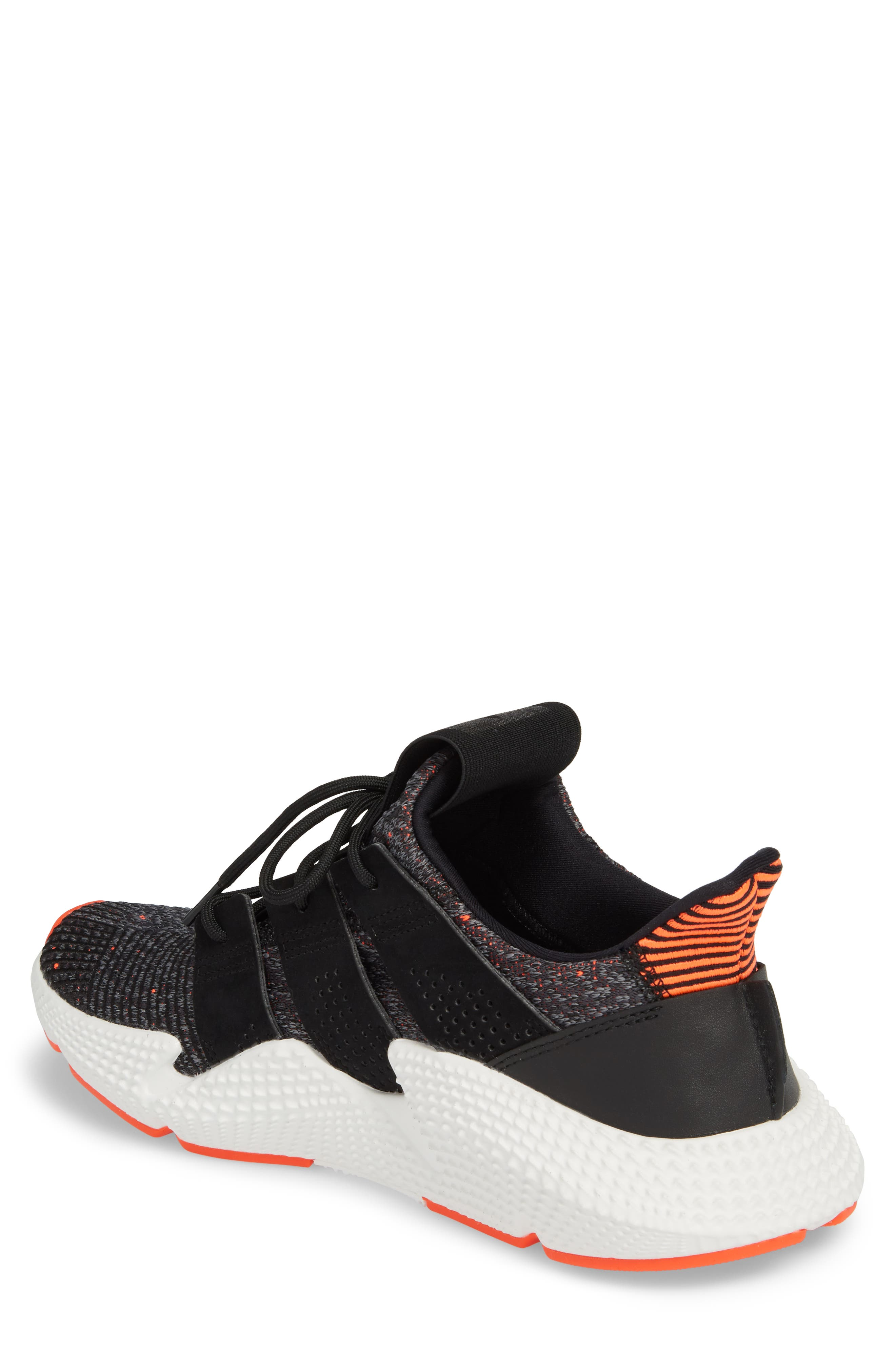 Prophere Sneaker,                             Alternate thumbnail 2, color,                             Black/ Solar Red