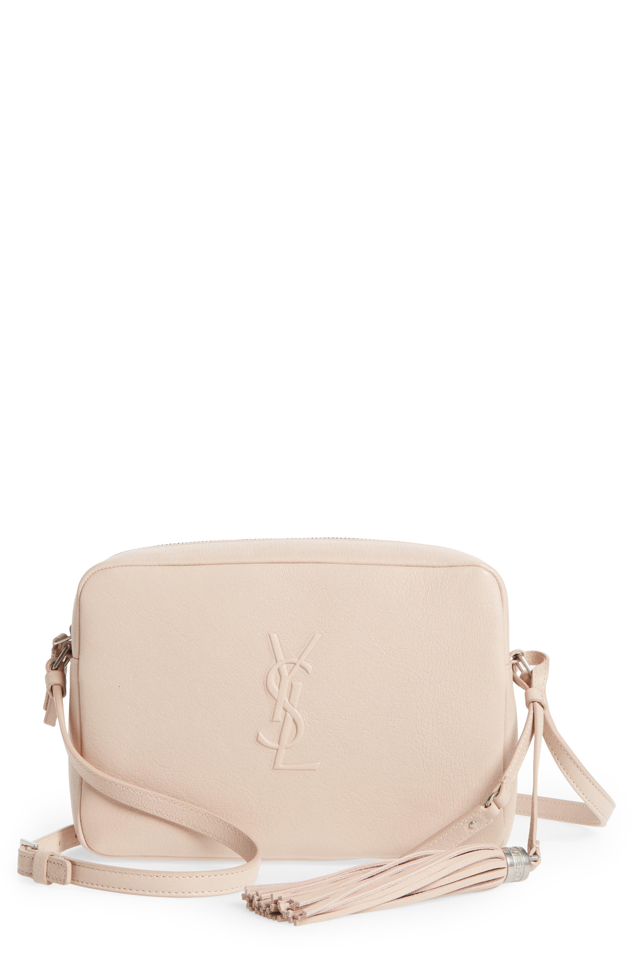 093da35e9e3 Shop for Best Price Saint Laurent Small Mono Leather Camera Bag Low ...