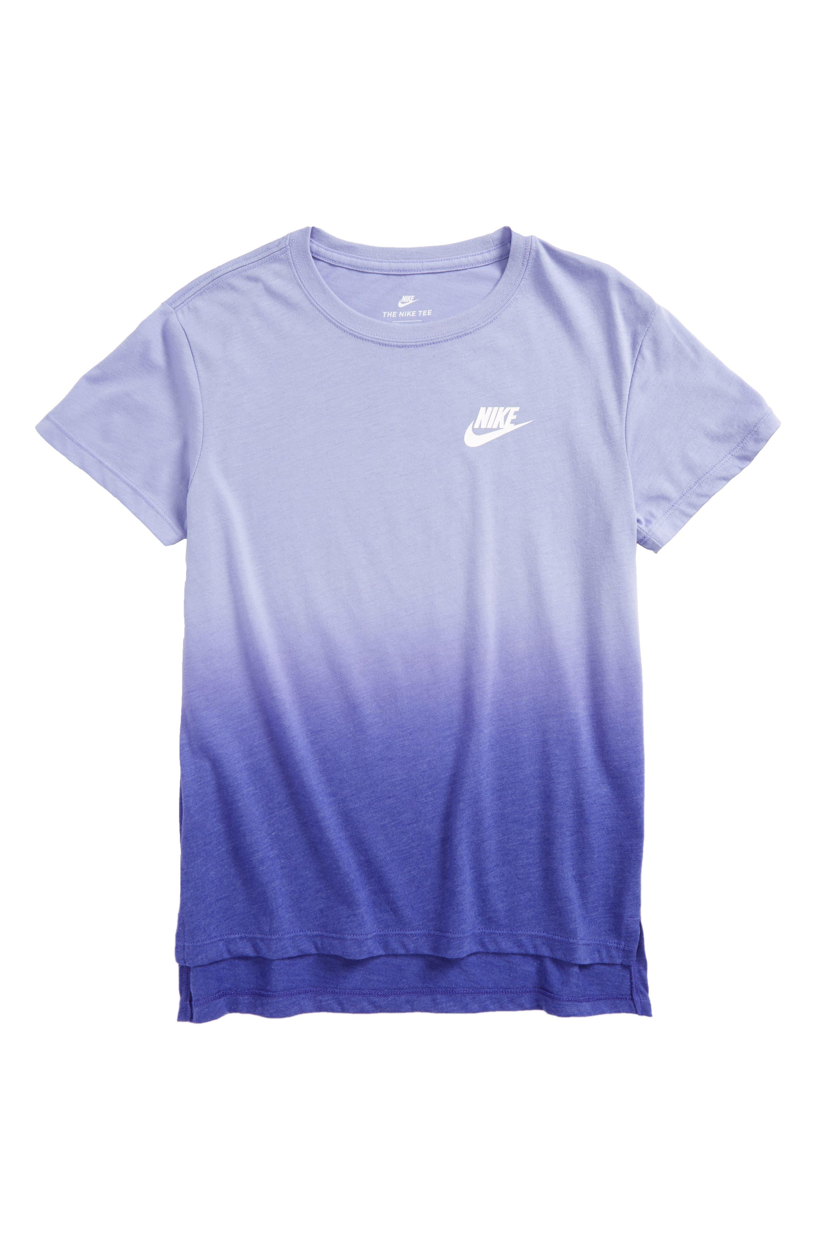 Main Image - Nike Dip Dye Tee (Big Girls)