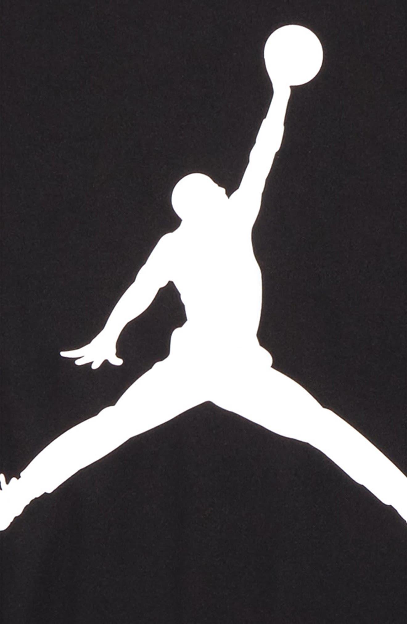 Alternate Image 2  - Jordan Jumpman Dry Logo Graphic T-Shirt (Big Boys)