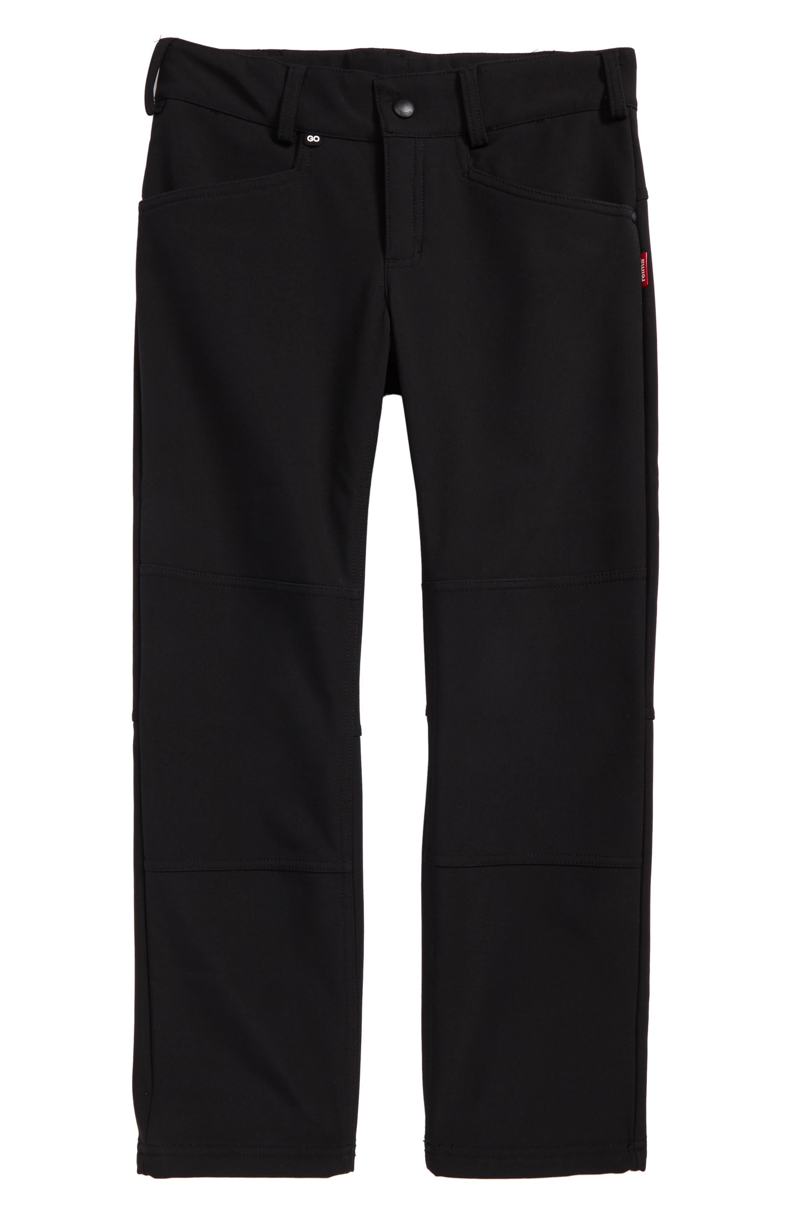 Mighty Softshell Pants,                             Main thumbnail 1, color,                             Black
