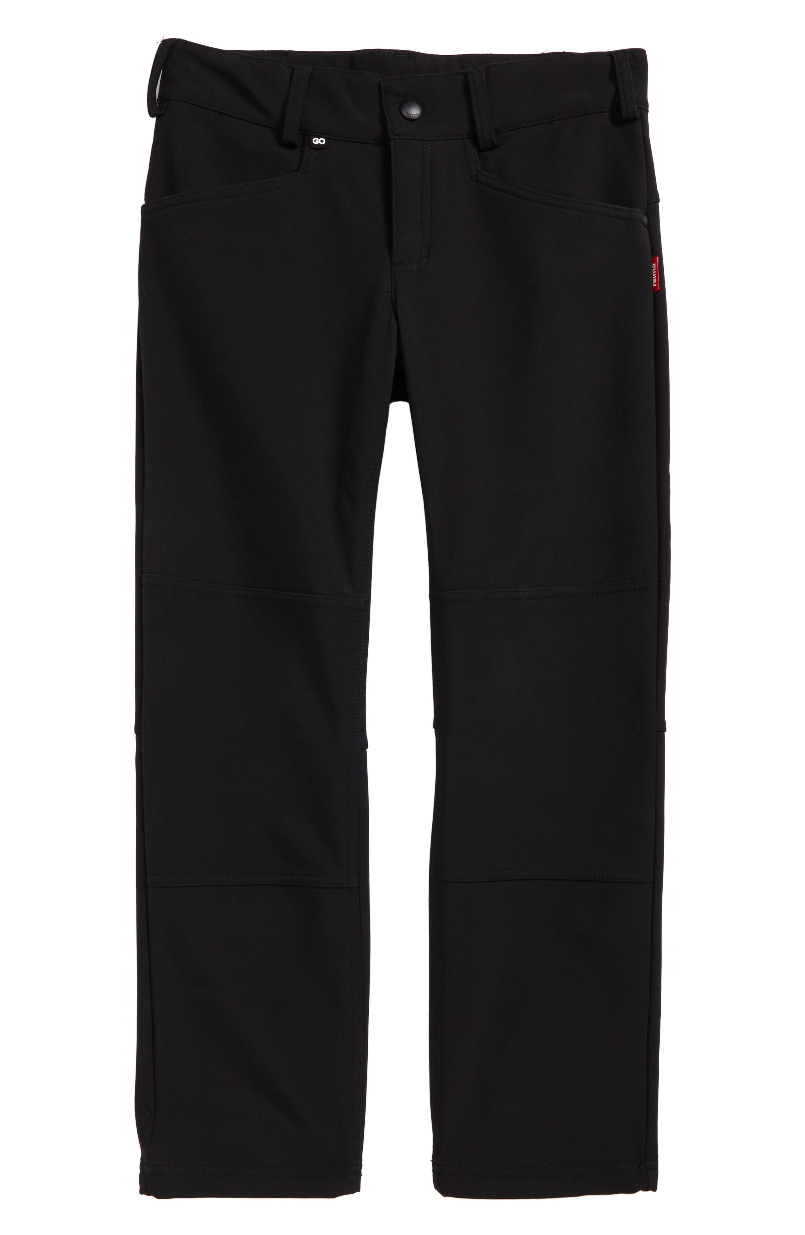 Mighty Softshell Pants,                         Main,                         color, Black