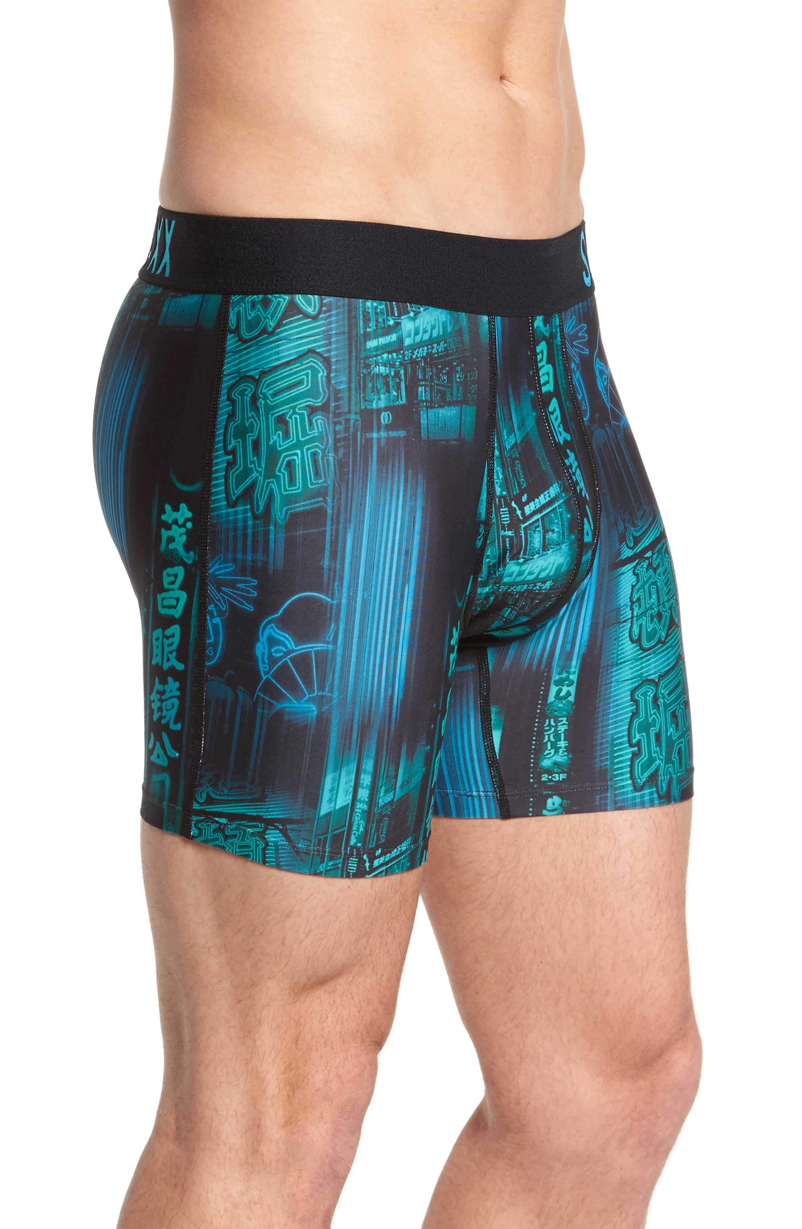 Fuse Neon Signs Boxer Briefs,                             Alternate thumbnail 3, color,                             Blade Runner