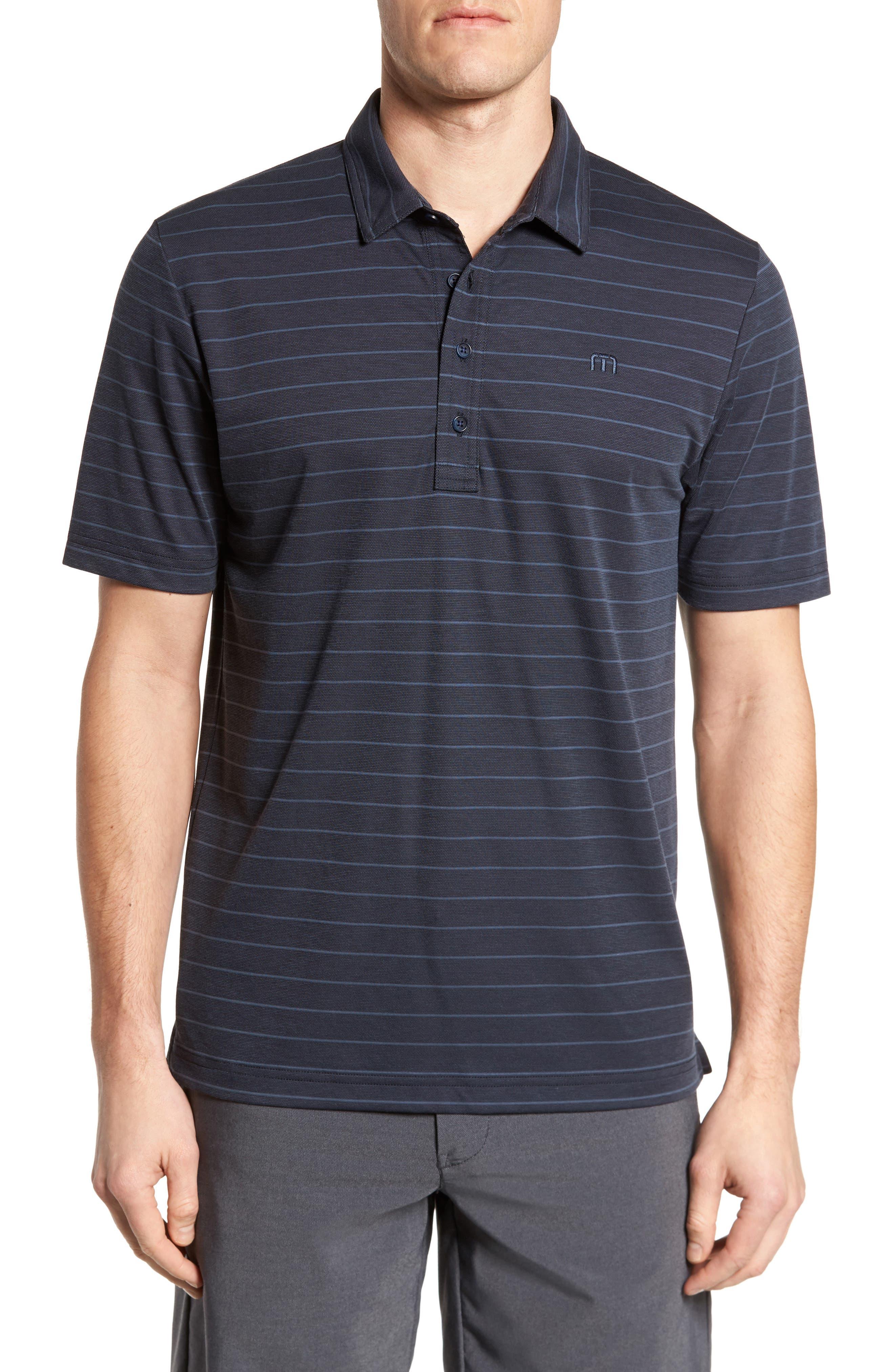 Marini Polo Shirt,                         Main,                         color, Blue Nights/ Allure