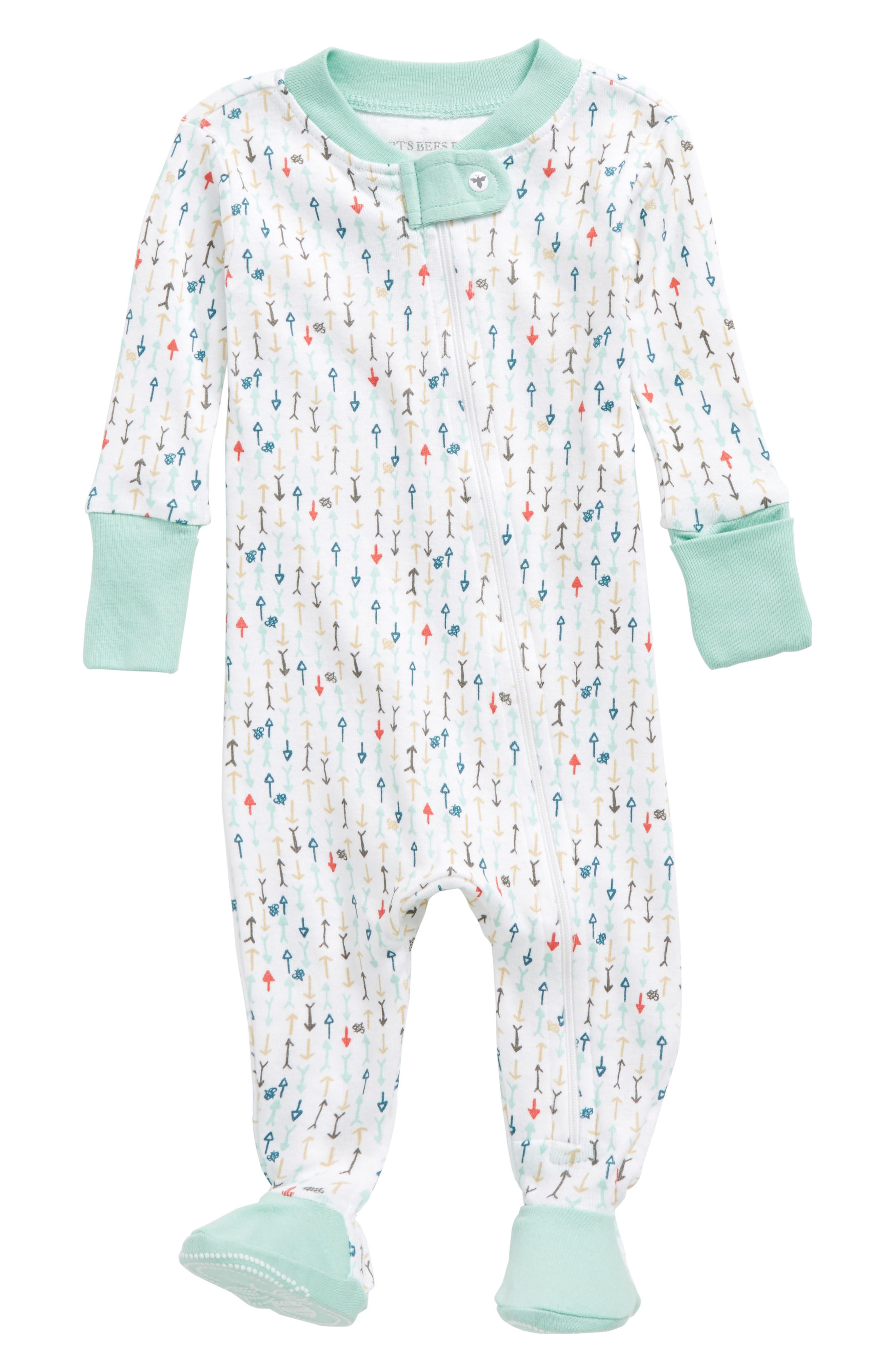 Burt's Bees Baby This Way Fitted One-Piece Pajamas (Baby)