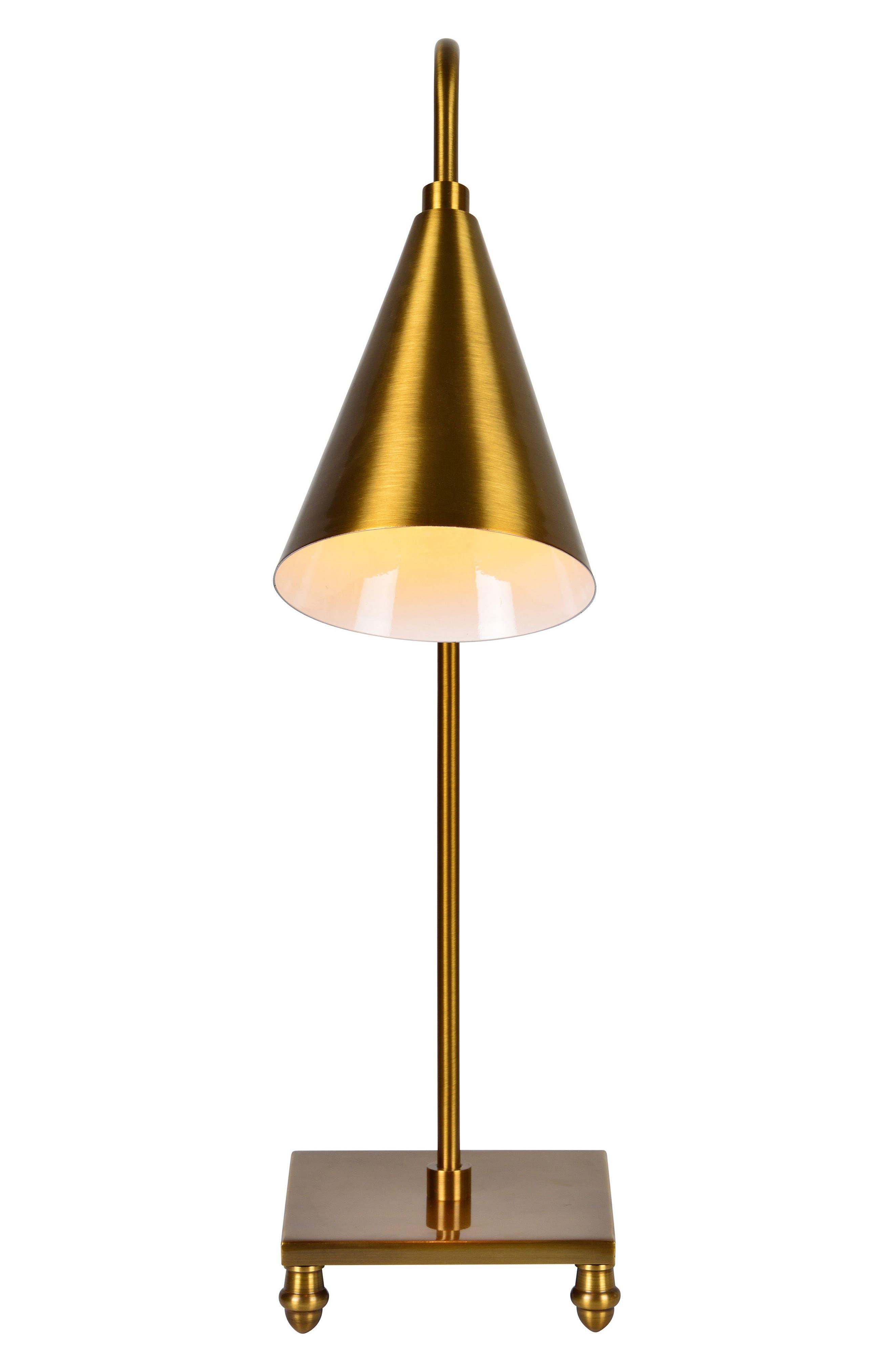 Dawn Table Lamp,                             Alternate thumbnail 3, color,                             Antique Gold