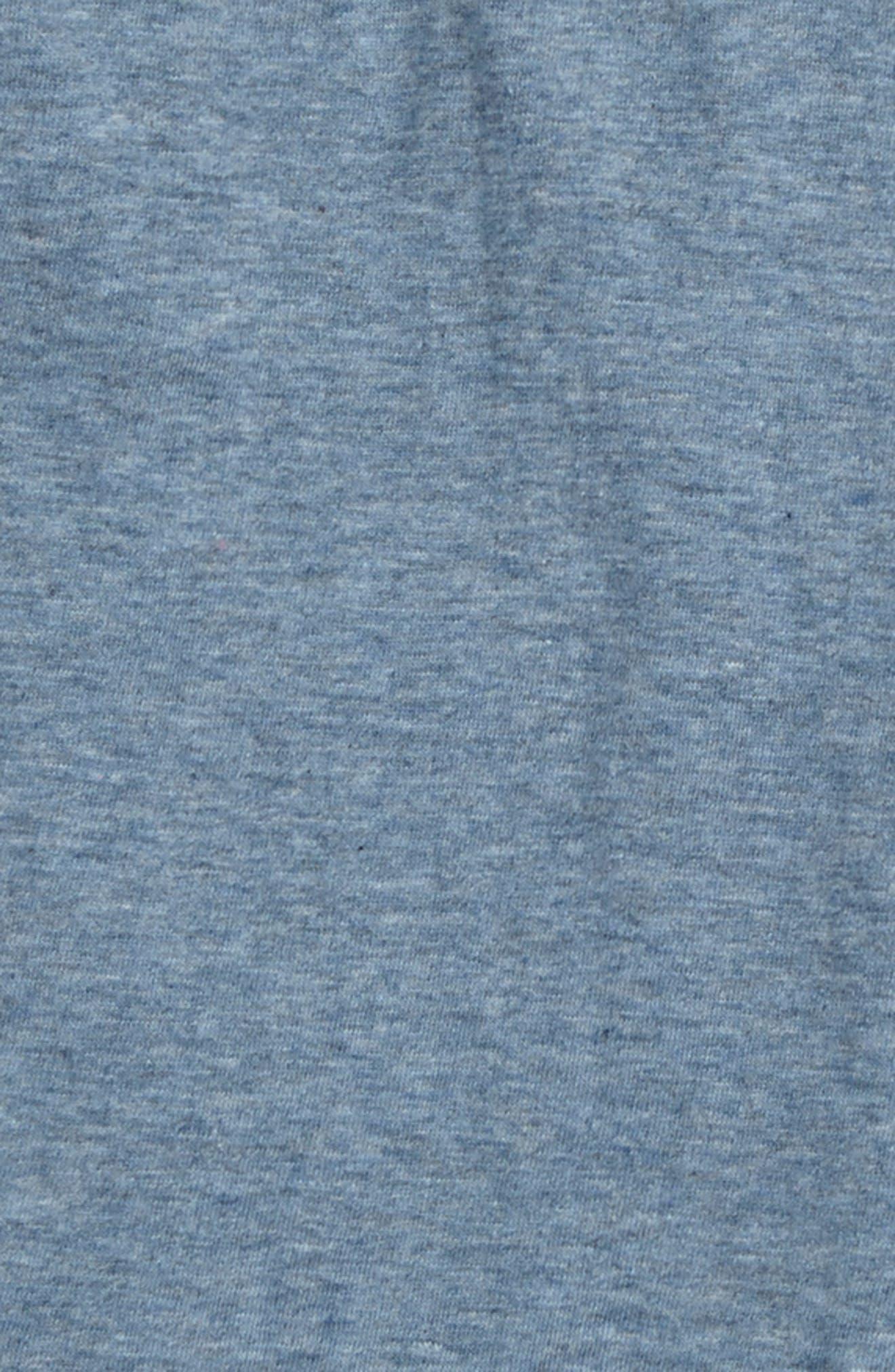 Alternate Image 2  - Burt's Bees Baby Organic Cotton Henley T-Shirt (Toddler Boys & Little Boys)