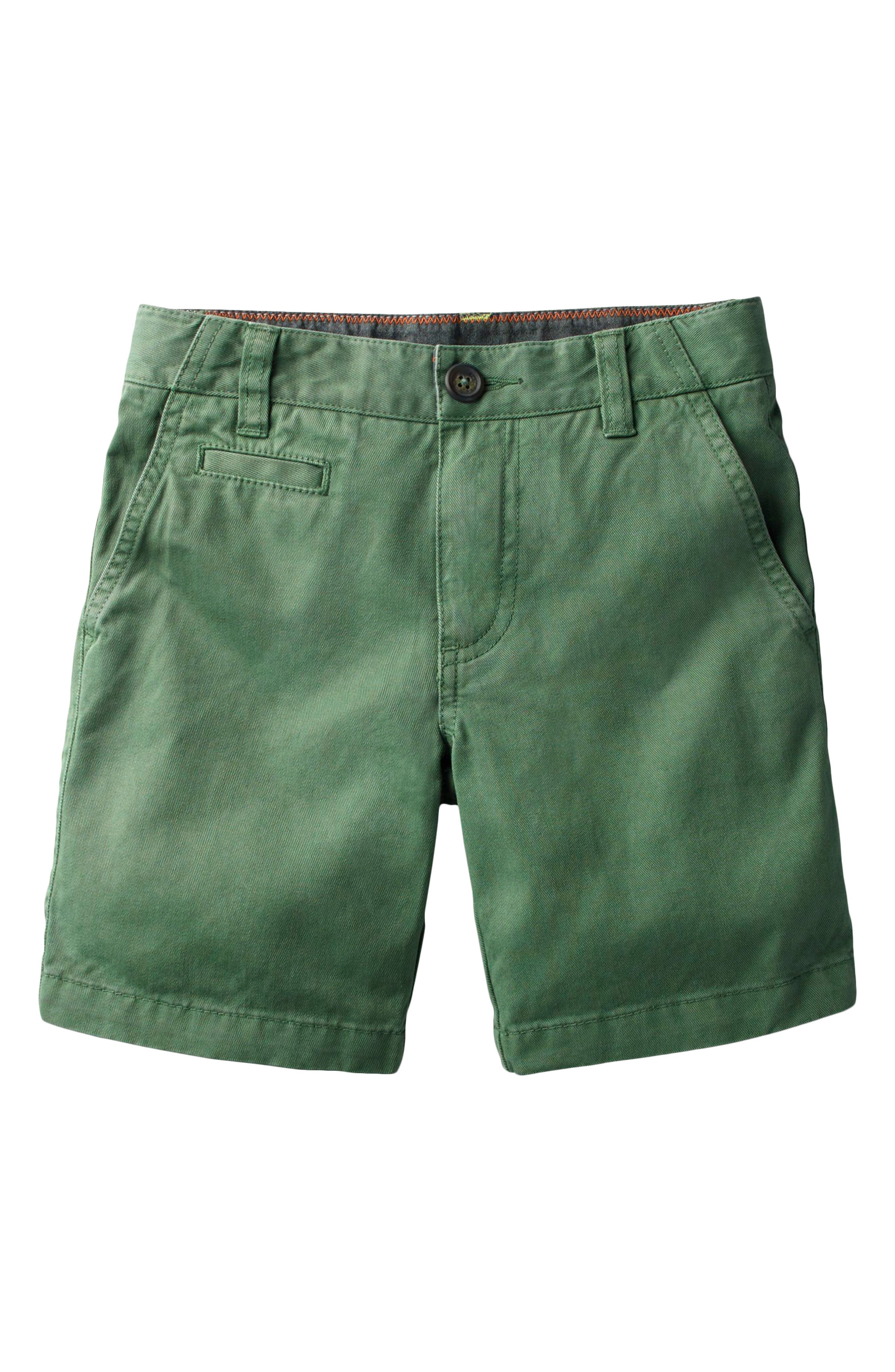 Chino Shorts,                             Main thumbnail 1, color,                             Rosemary Green