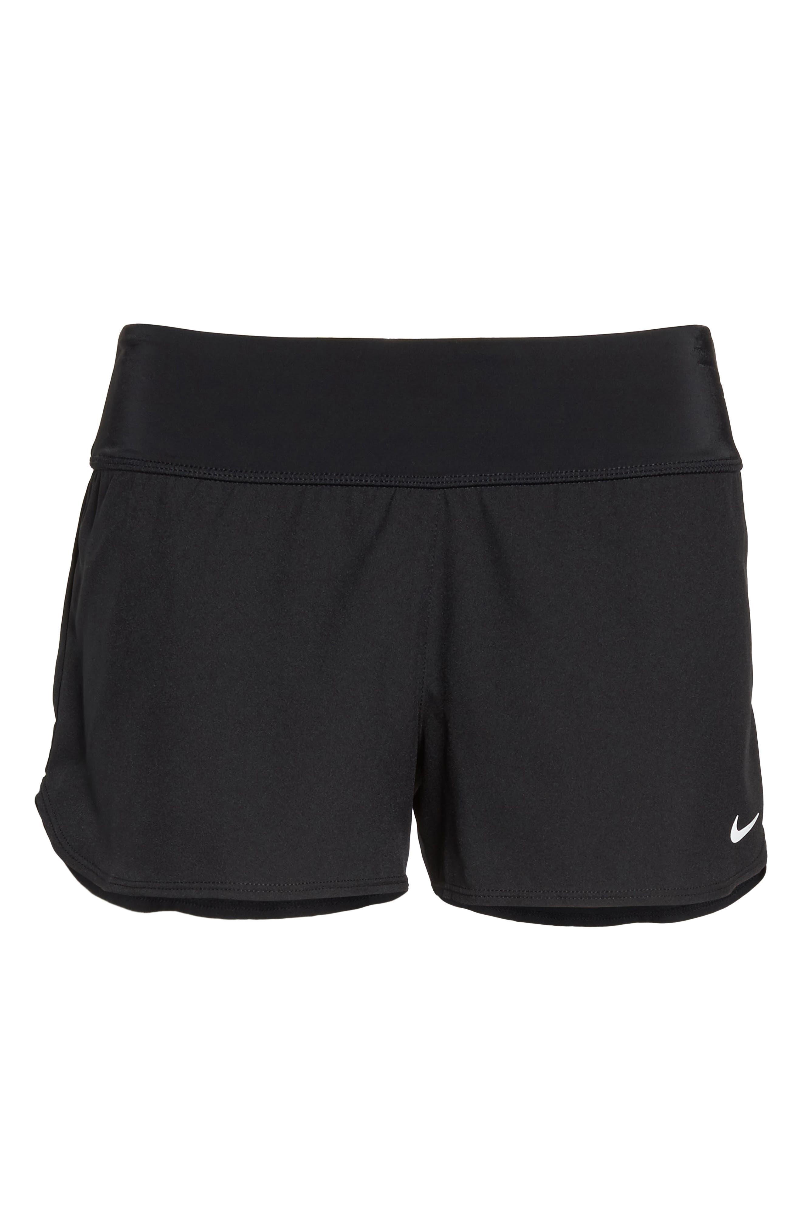 Swim Board Shorts,                             Alternate thumbnail 6, color,                             Black