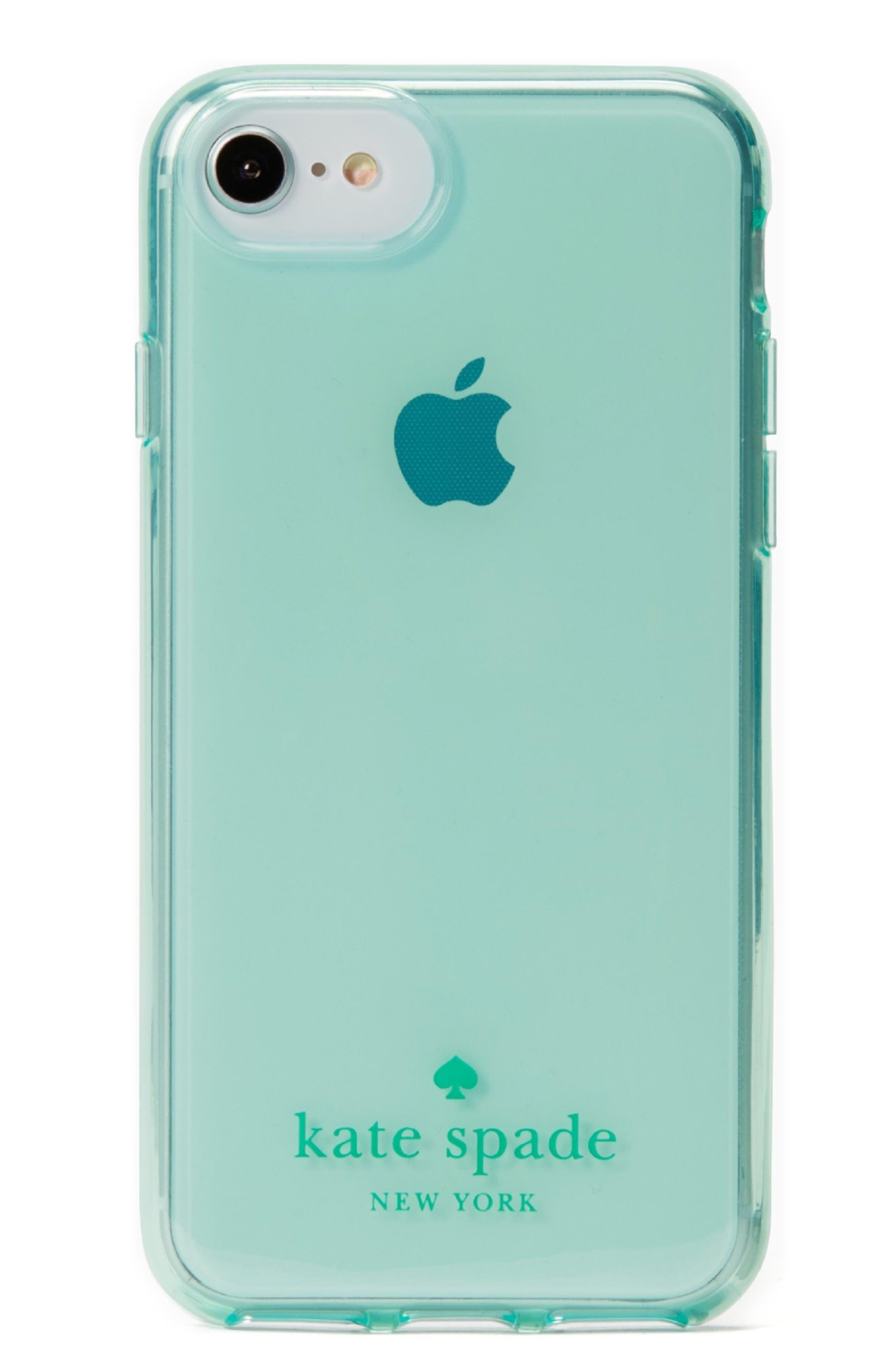 tinted iPhone 7/8 & 7/8 Plus case,                         Main,                         color, Mint