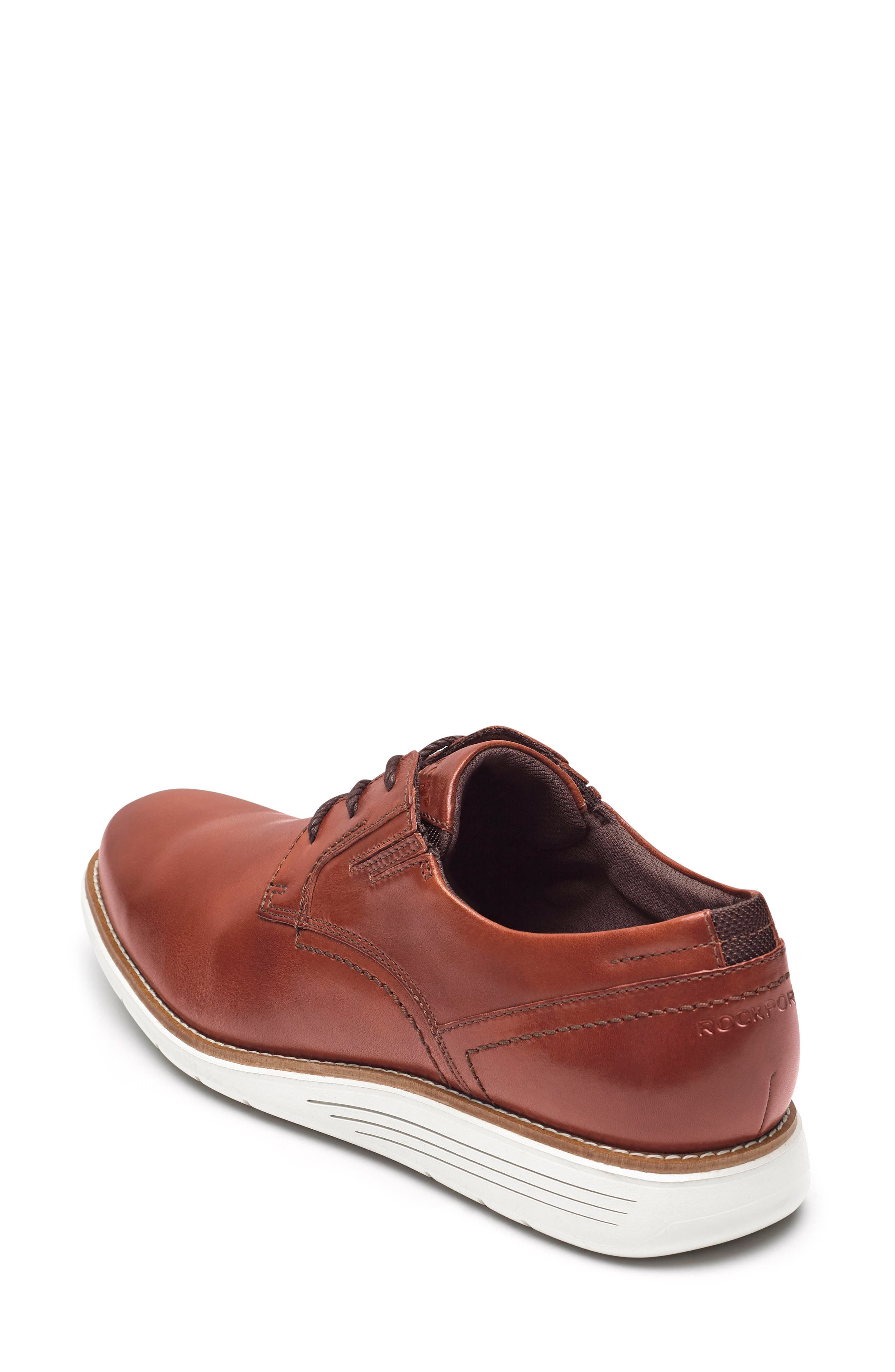 Total Motion Sport Plain Toe Derby,                             Alternate thumbnail 2, color,                             Tan Leather