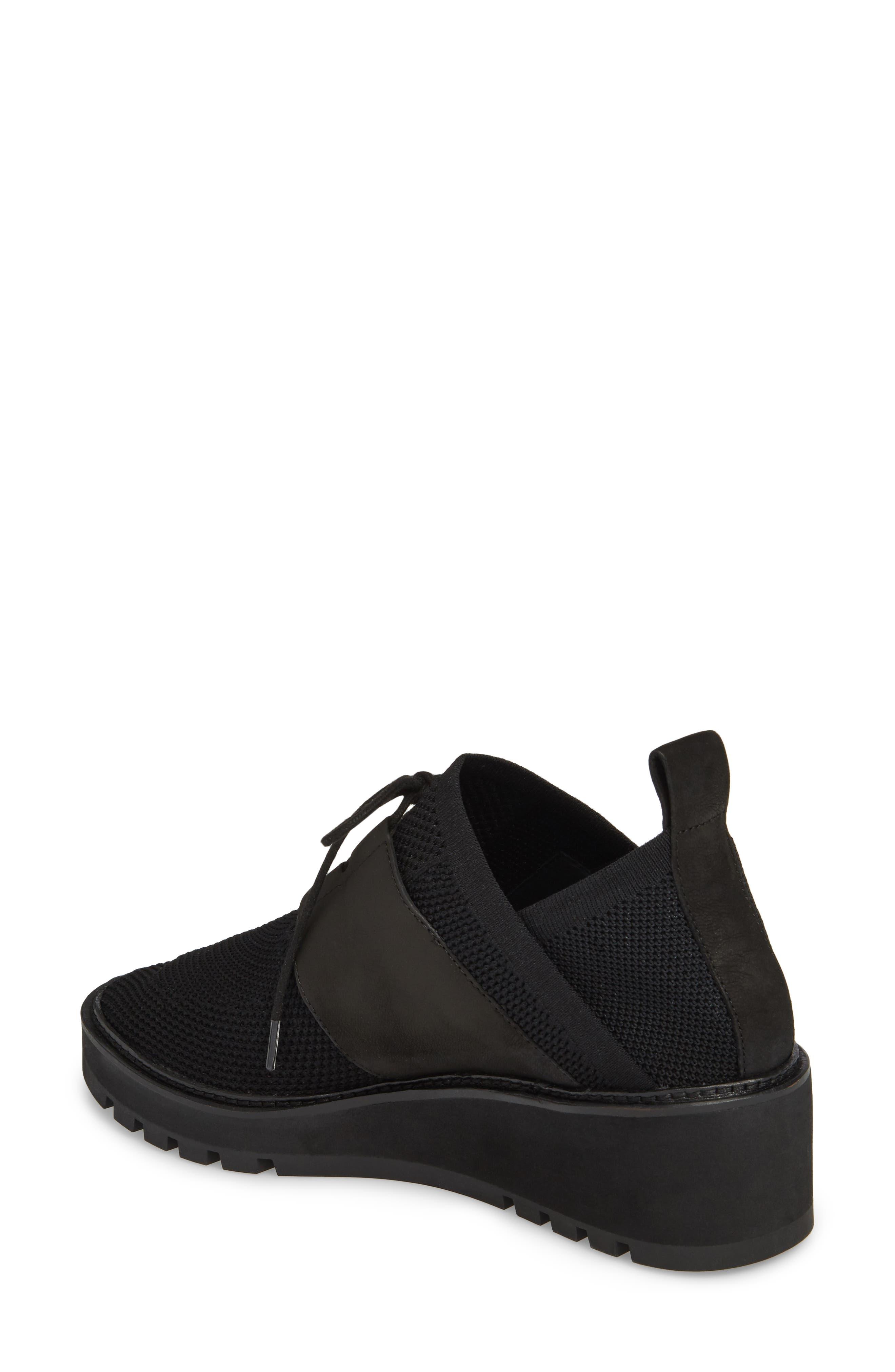 Wilson Sneaker,                             Alternate thumbnail 2, color,                             Black Fabric