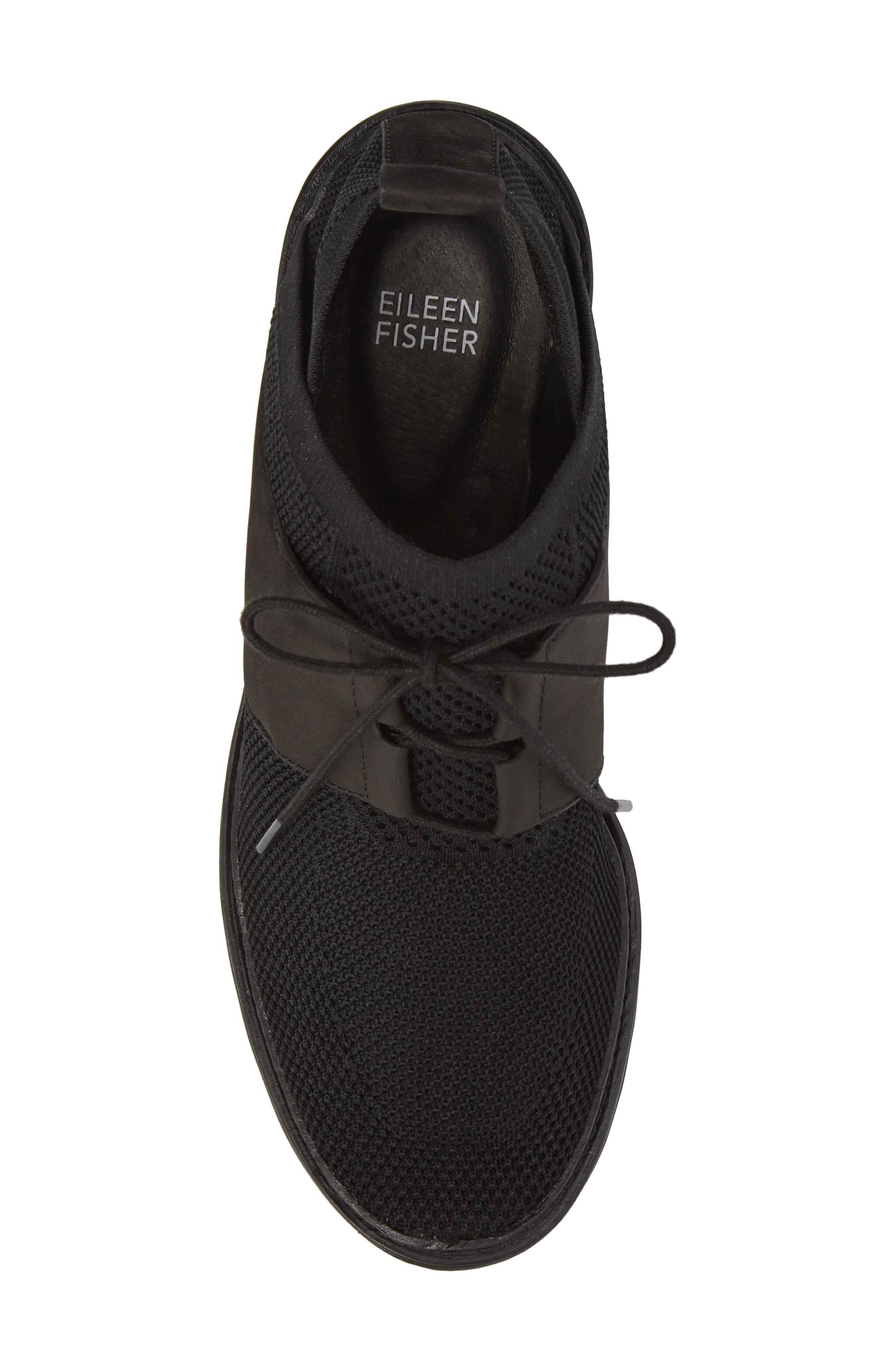 Wilson Sneaker,                             Alternate thumbnail 5, color,                             Black Fabric