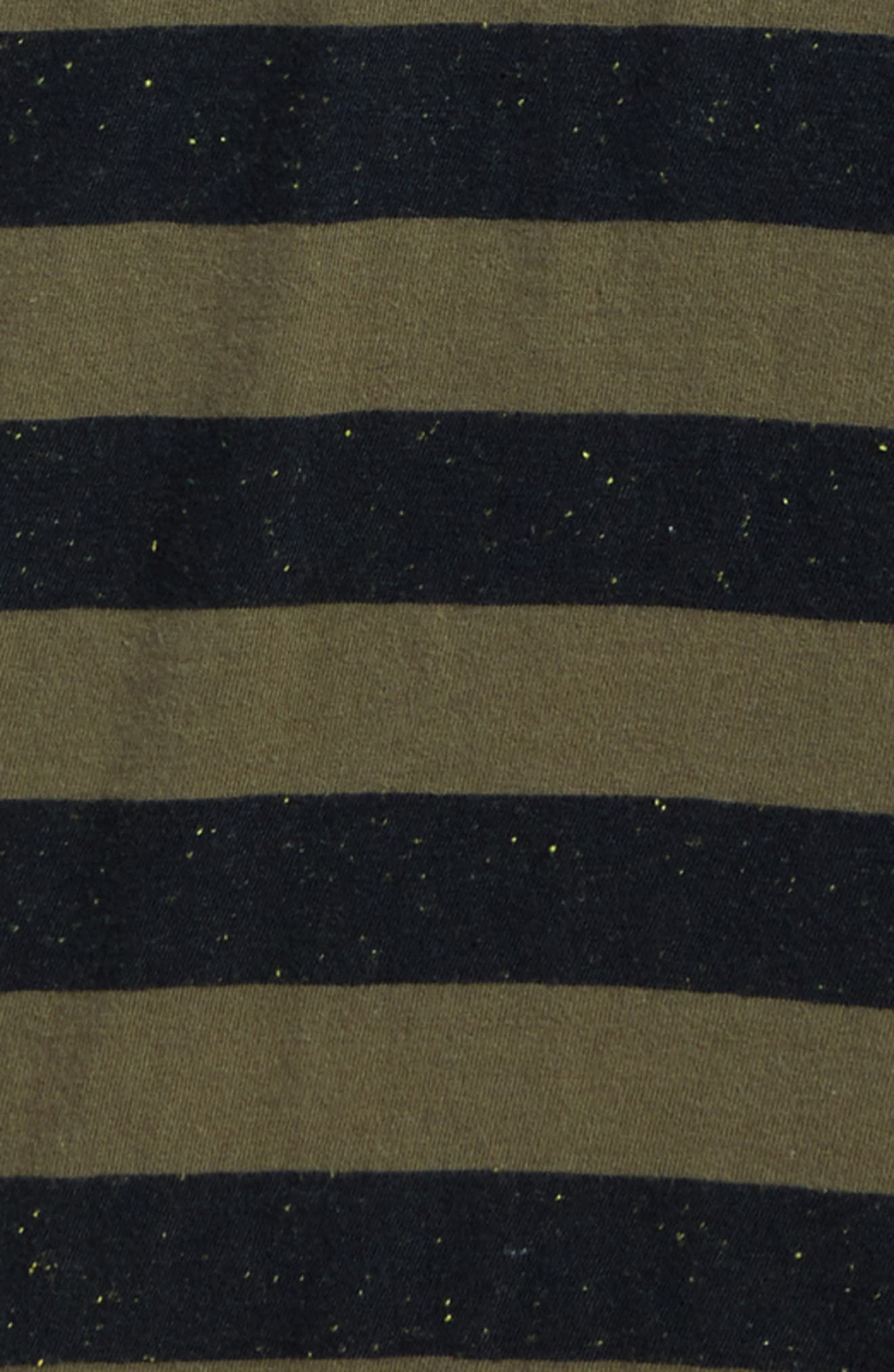 Scoundrel Striped Polo,                             Alternate thumbnail 2, color,                             Army Green