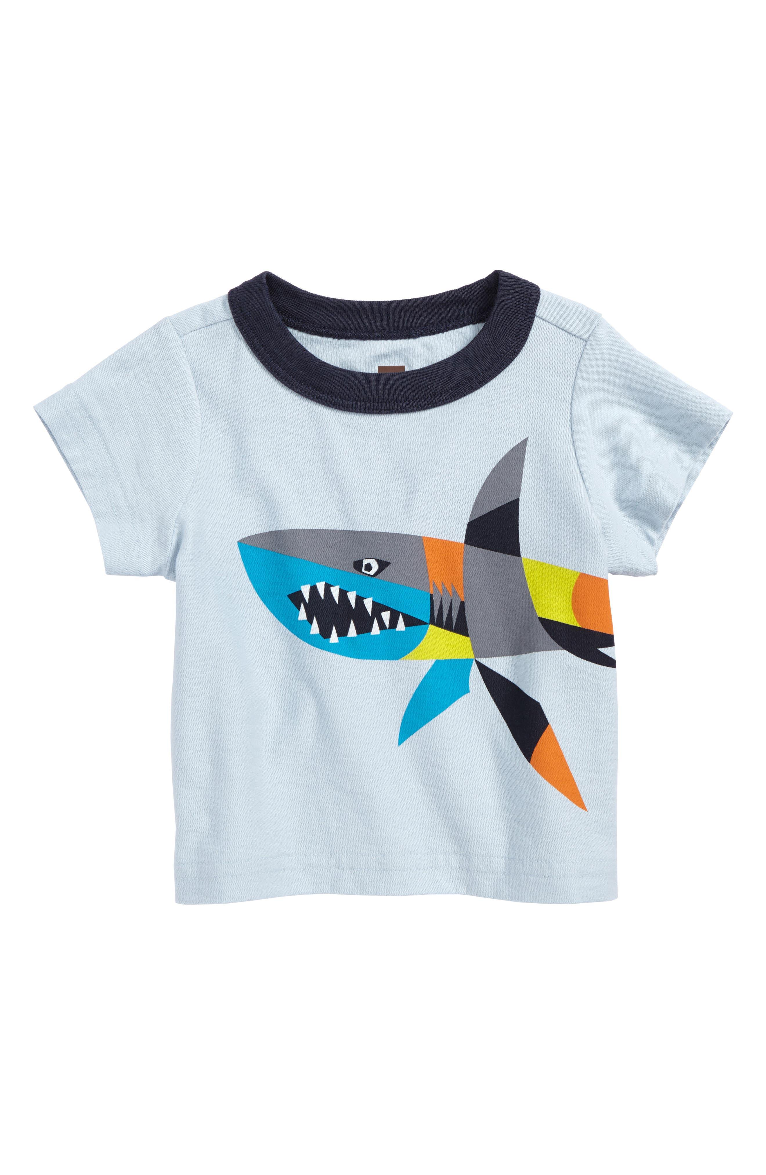 Tea Collection Chomper T-Shirt (Baby Boys)