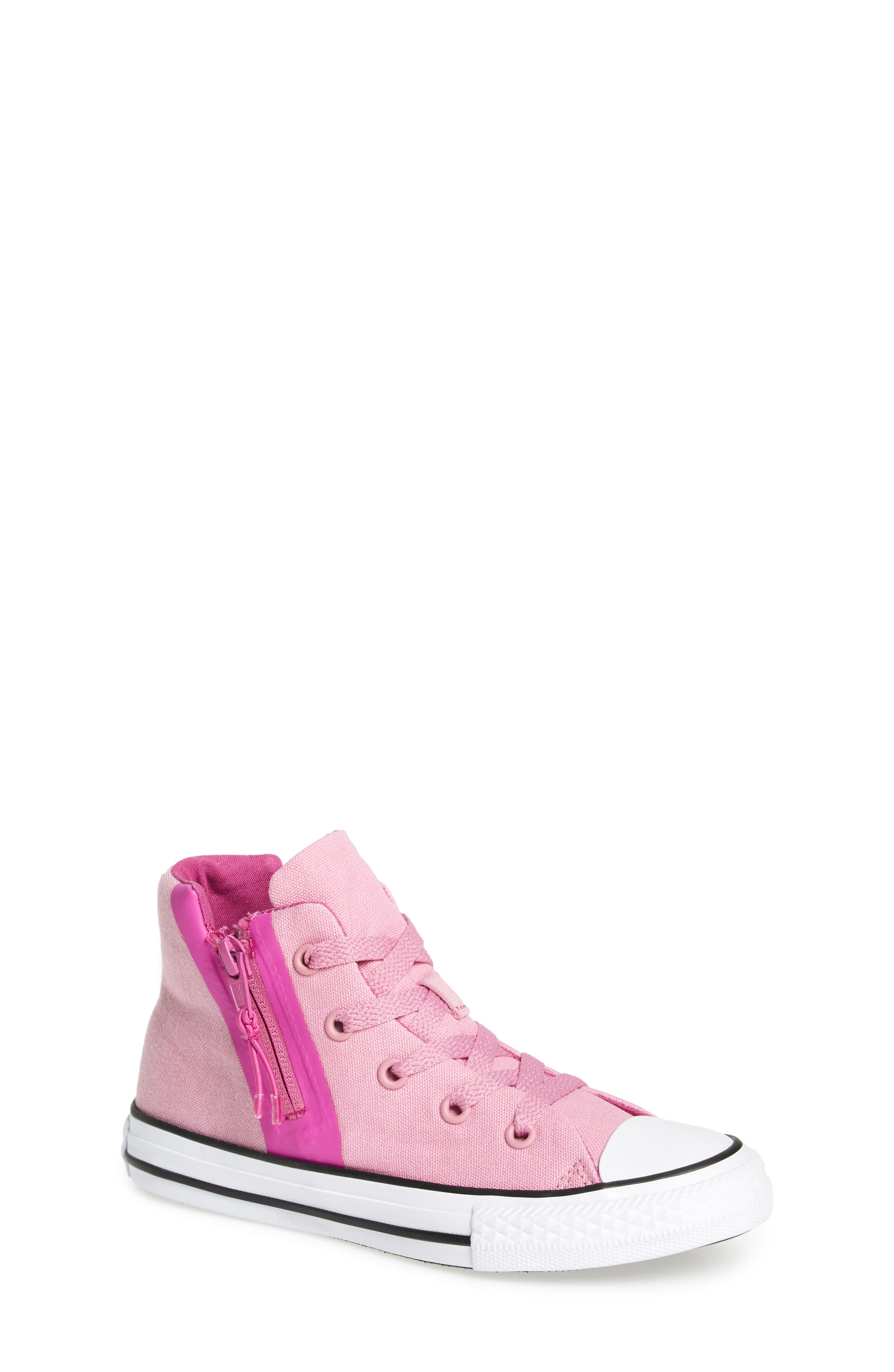 Alternate Image 1 Selected - Converse Chuck Taylor® All Star® Sport Zip High Top Sneaker (Toddler, Little Kid & Big Kid)