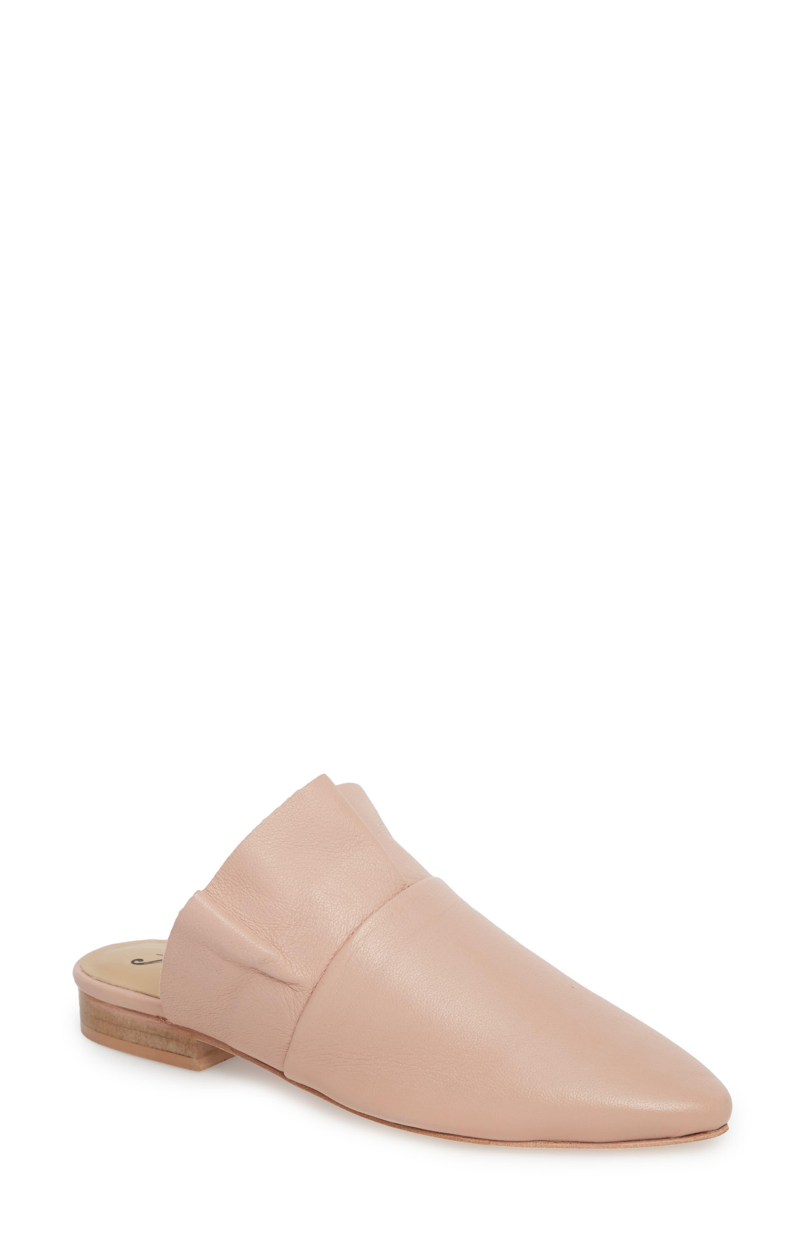 Sienna Ruffle Mule,                         Main,                         color, Pink