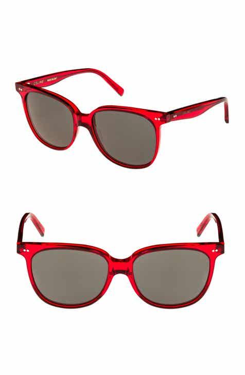 1c682dfed2d CELINE 57mm Square Sunglasses