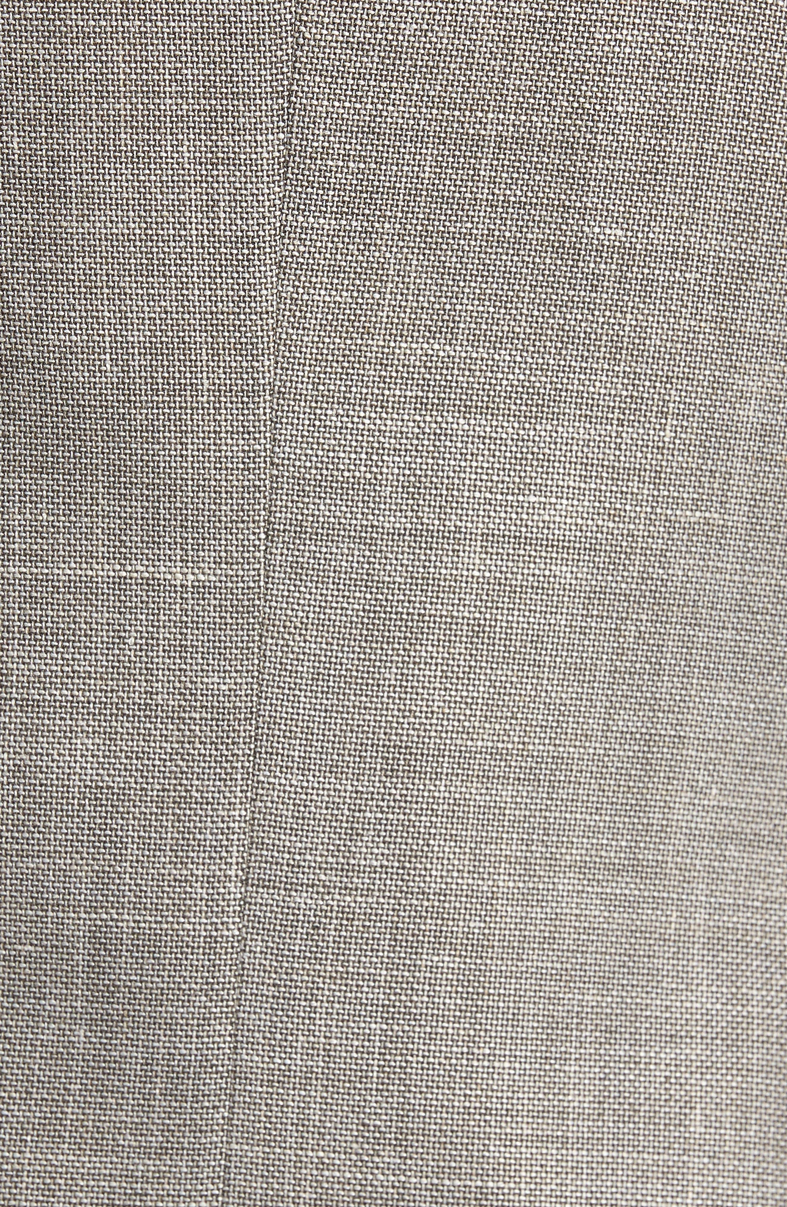 Hutsons Trim Fit Stretch Blazer,                             Alternate thumbnail 5, color,                             Medium Beige