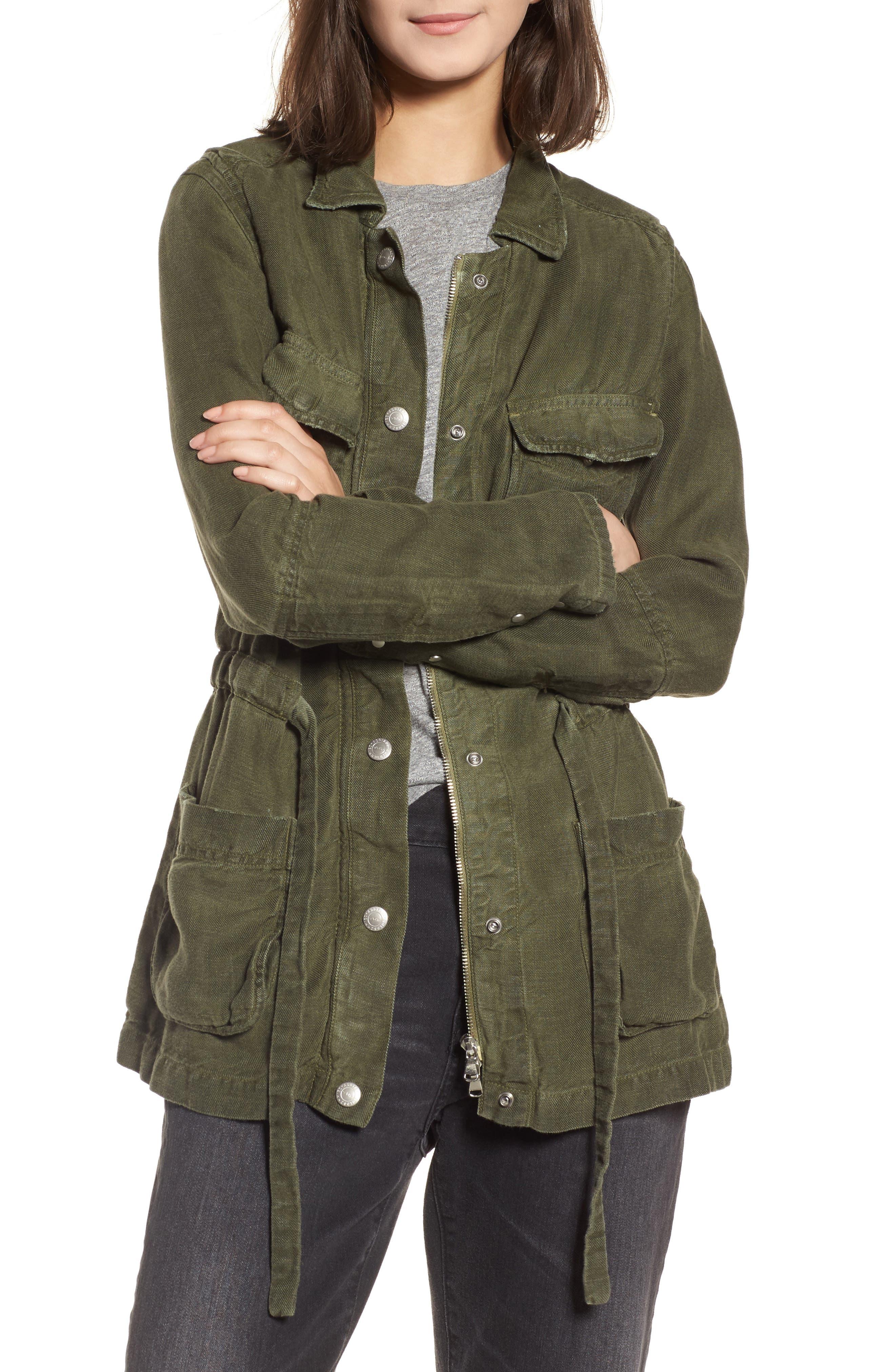 Carell Utility Jacket,                         Main,                         color, Sulfur Desert Pine