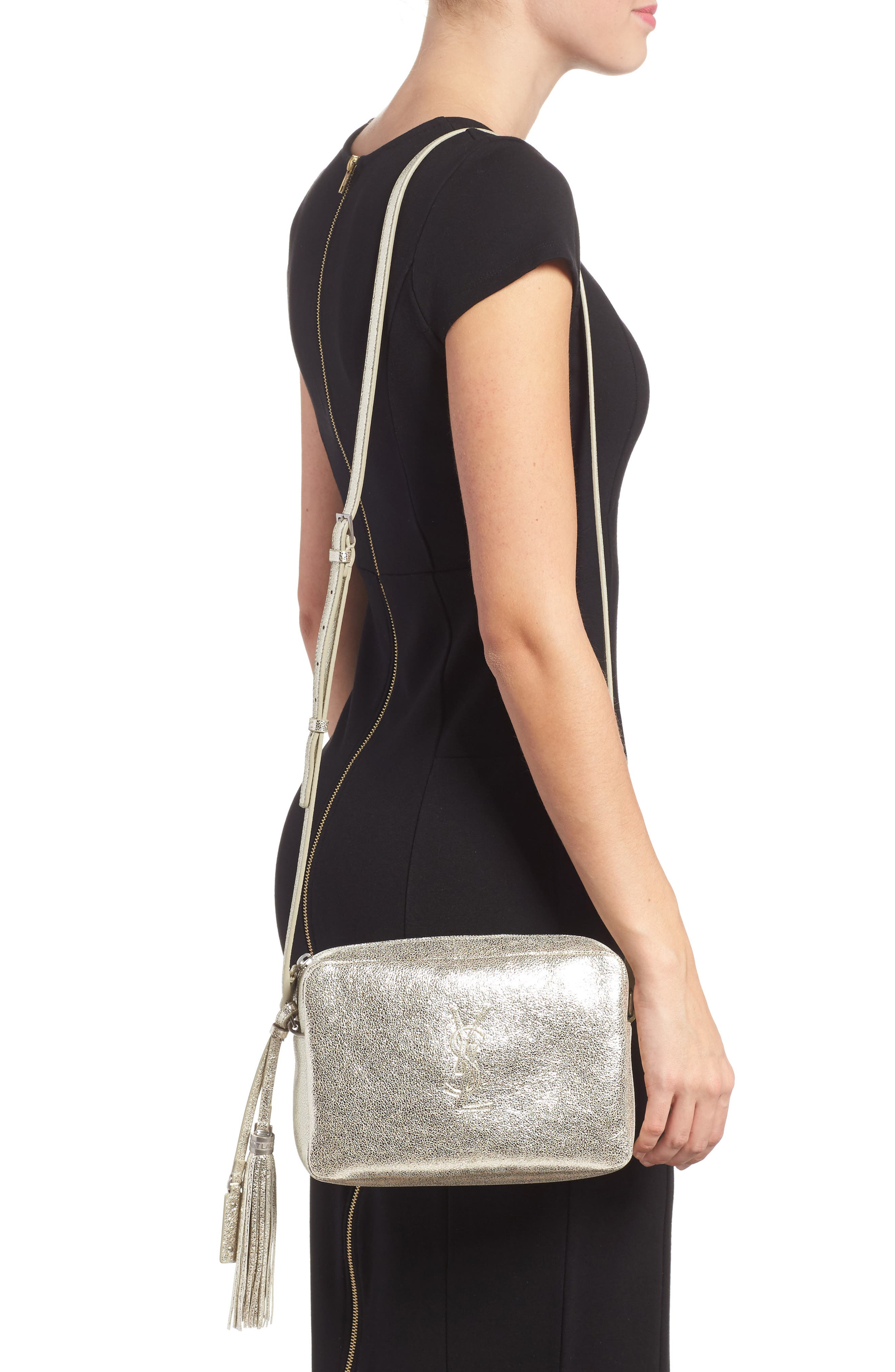 Alternate Image 2  - Saint Laurent Medium Lou Leather Camera Bag