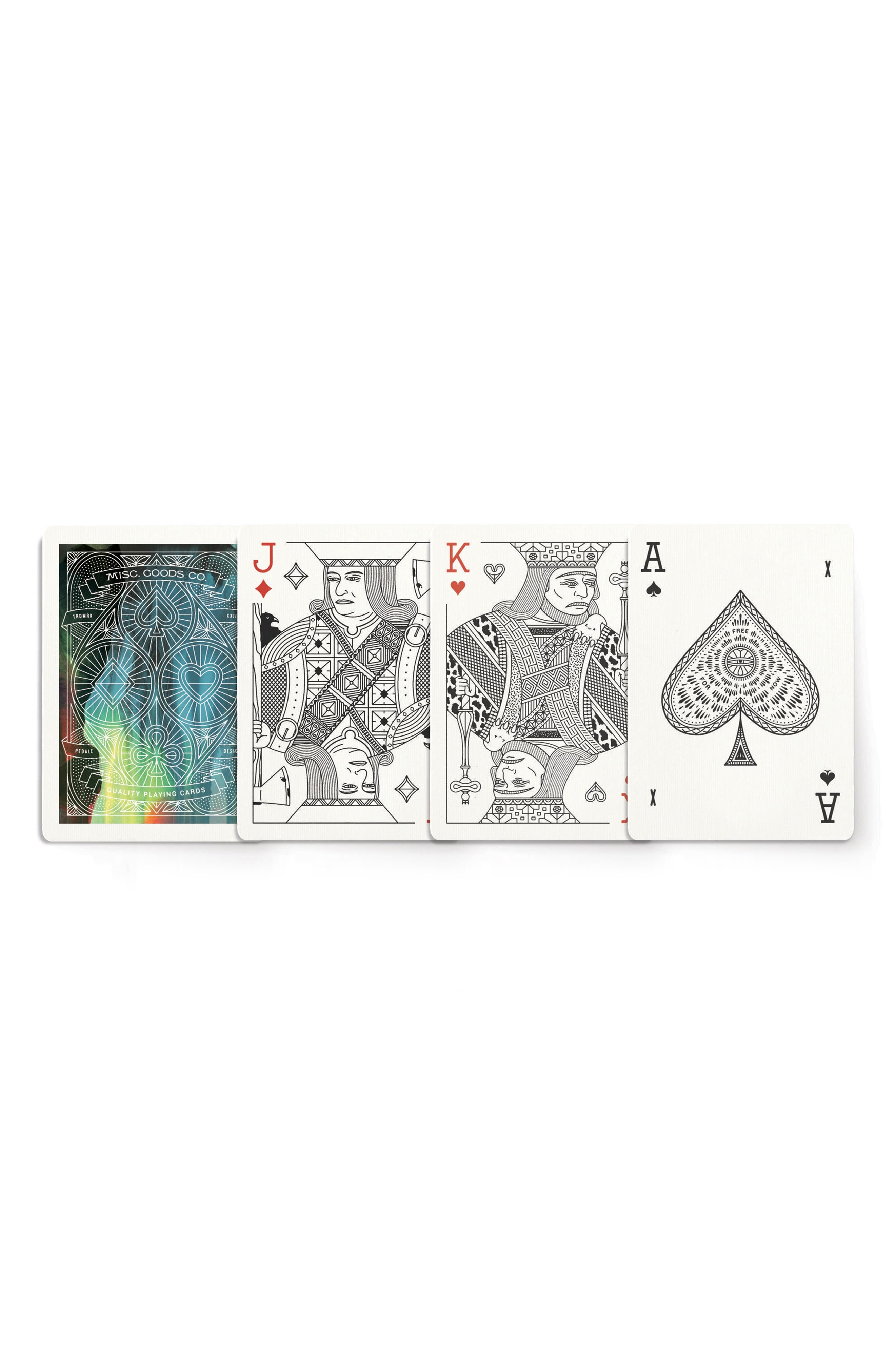 Cina Playing Cards,                             Alternate thumbnail 5, color,                             Multi