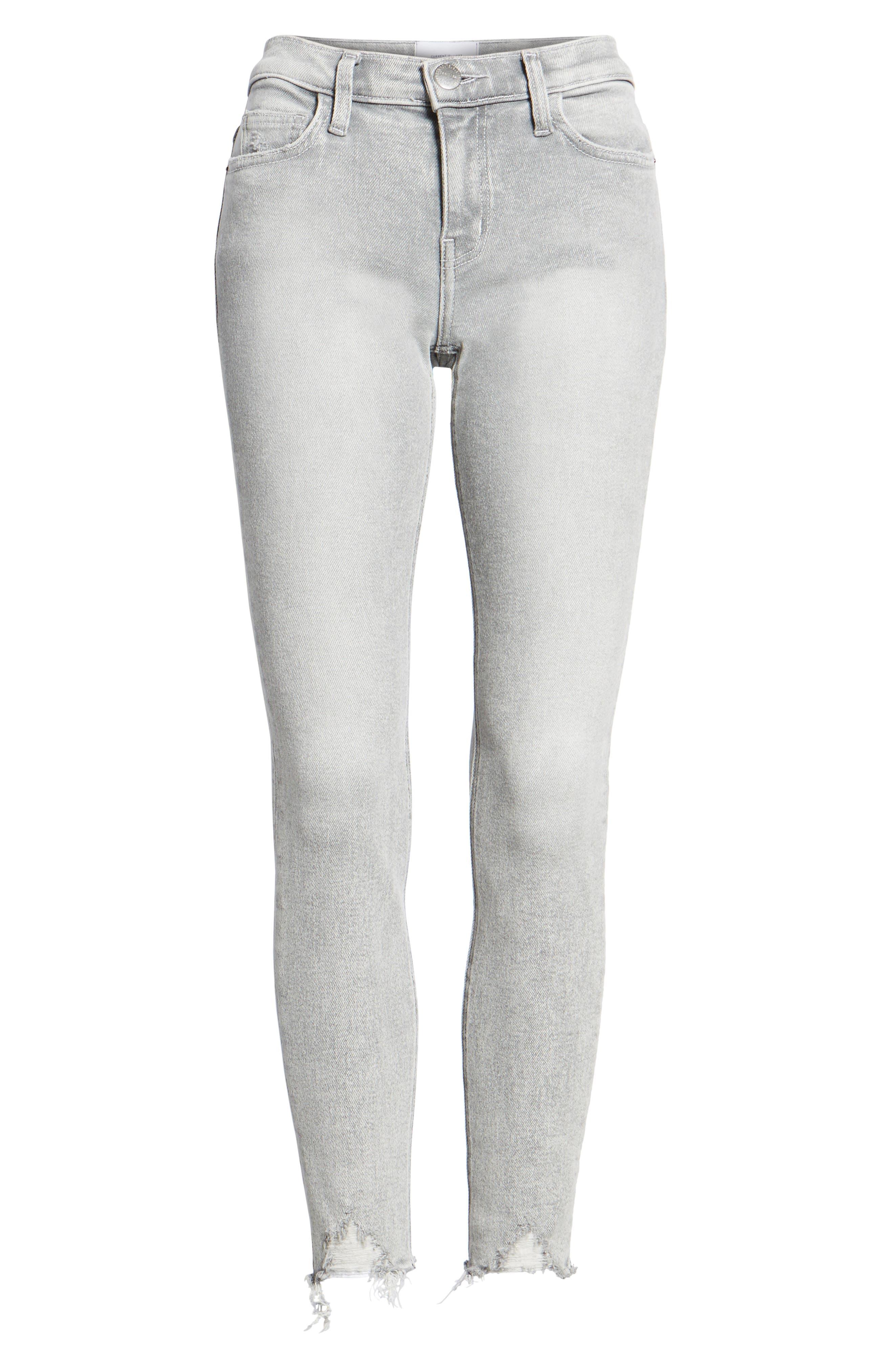 Alternate Image 7  - Current/Elliott The Stiletto High Waist Ankle Skinny Jeans (Astor)