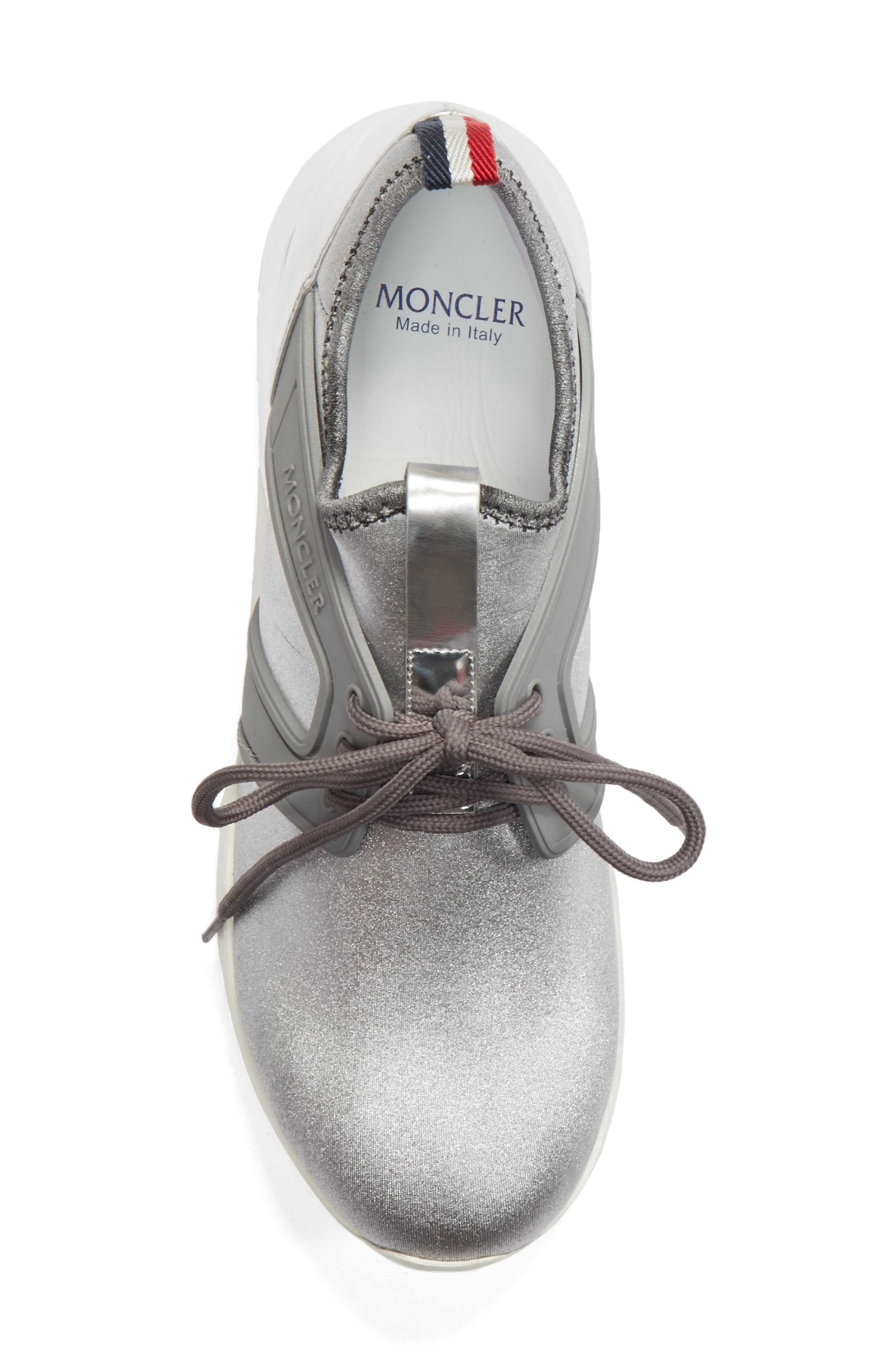 Meline Runner Sneaker,                             Alternate thumbnail 5, color,                             Silver