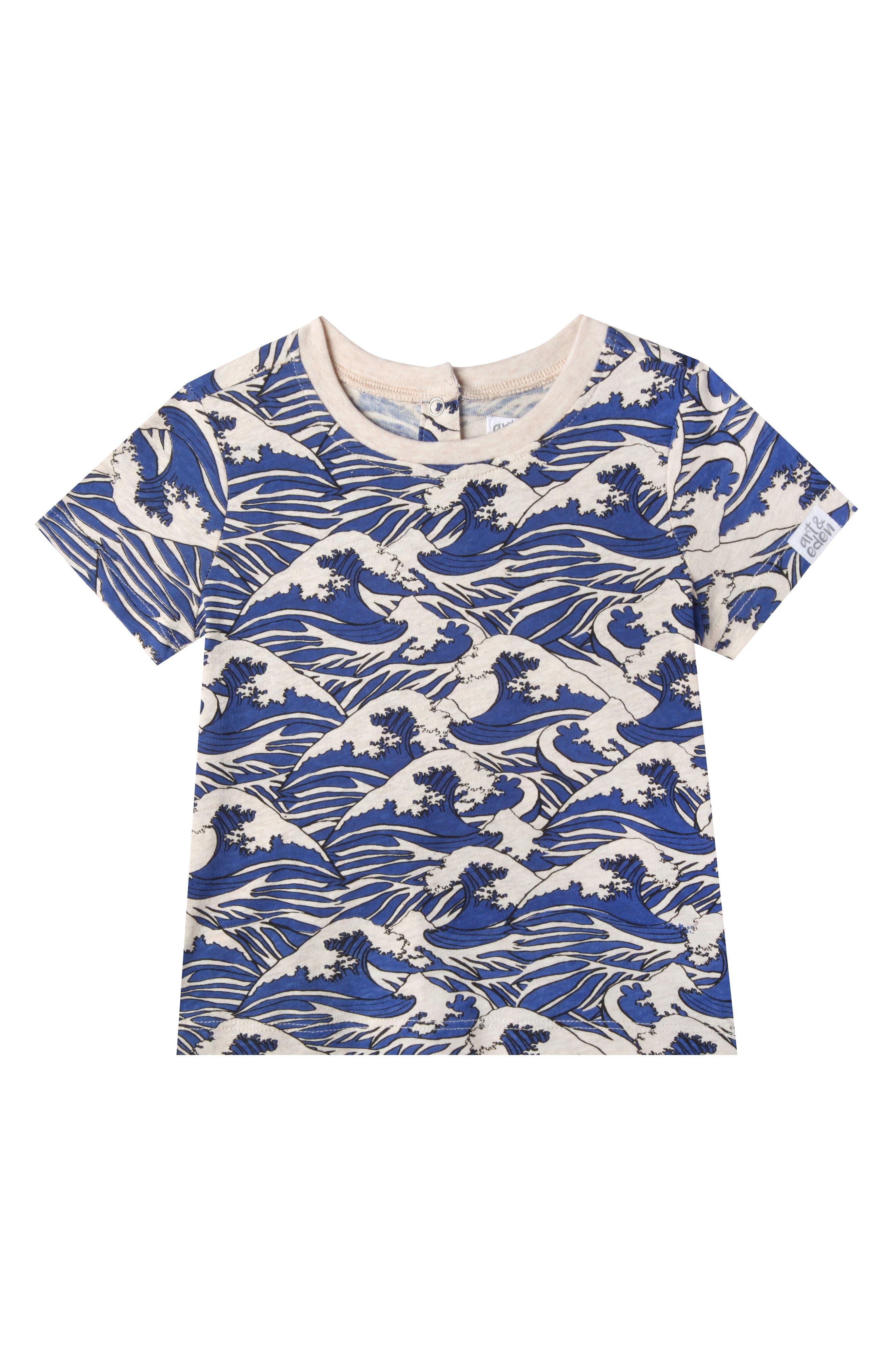 David T-Shirt,                         Main,                         color, Oatmeal Heather