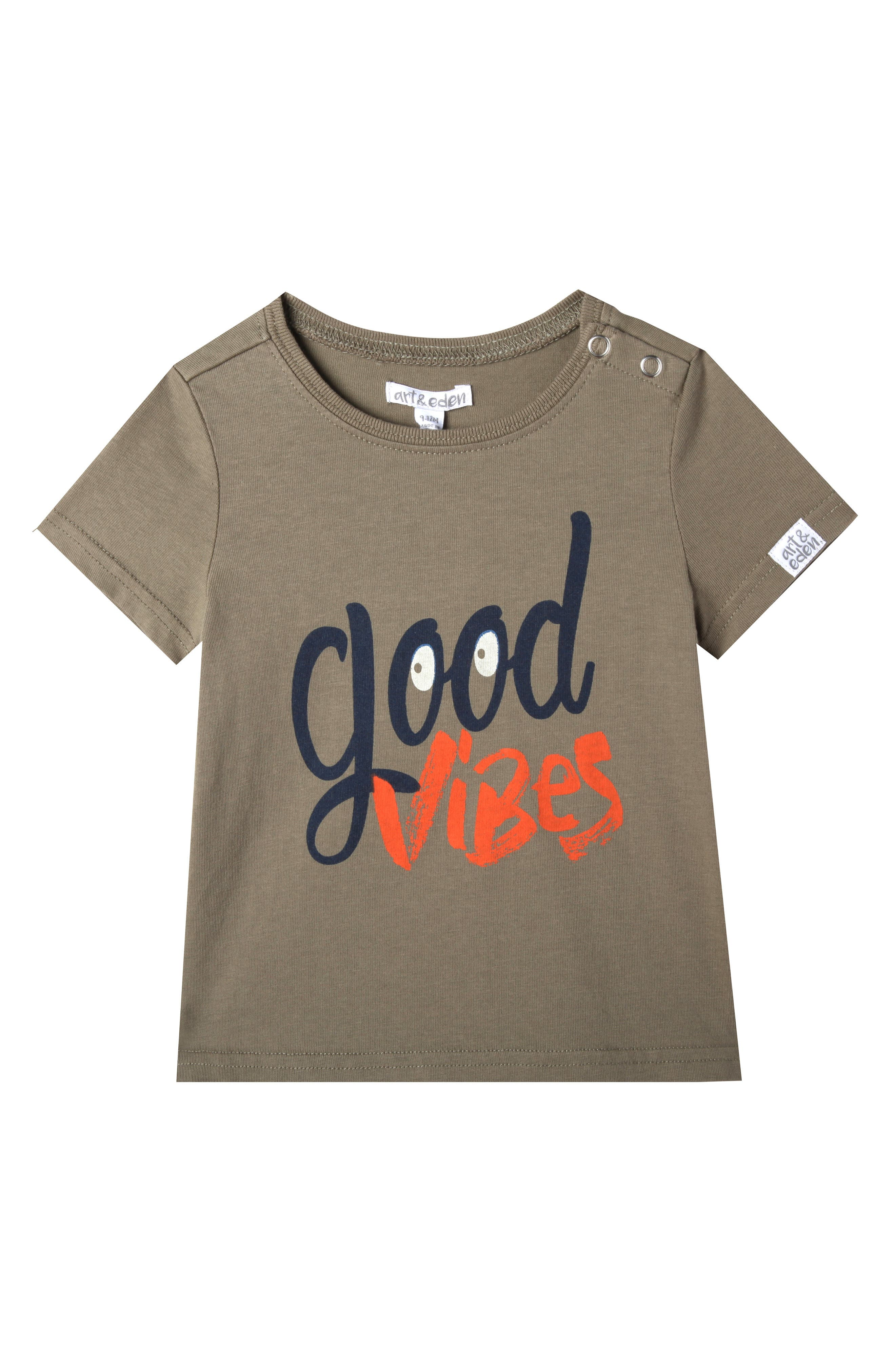 Jake Washed T-Shirt,                             Main thumbnail 1, color,                             Olive Branch