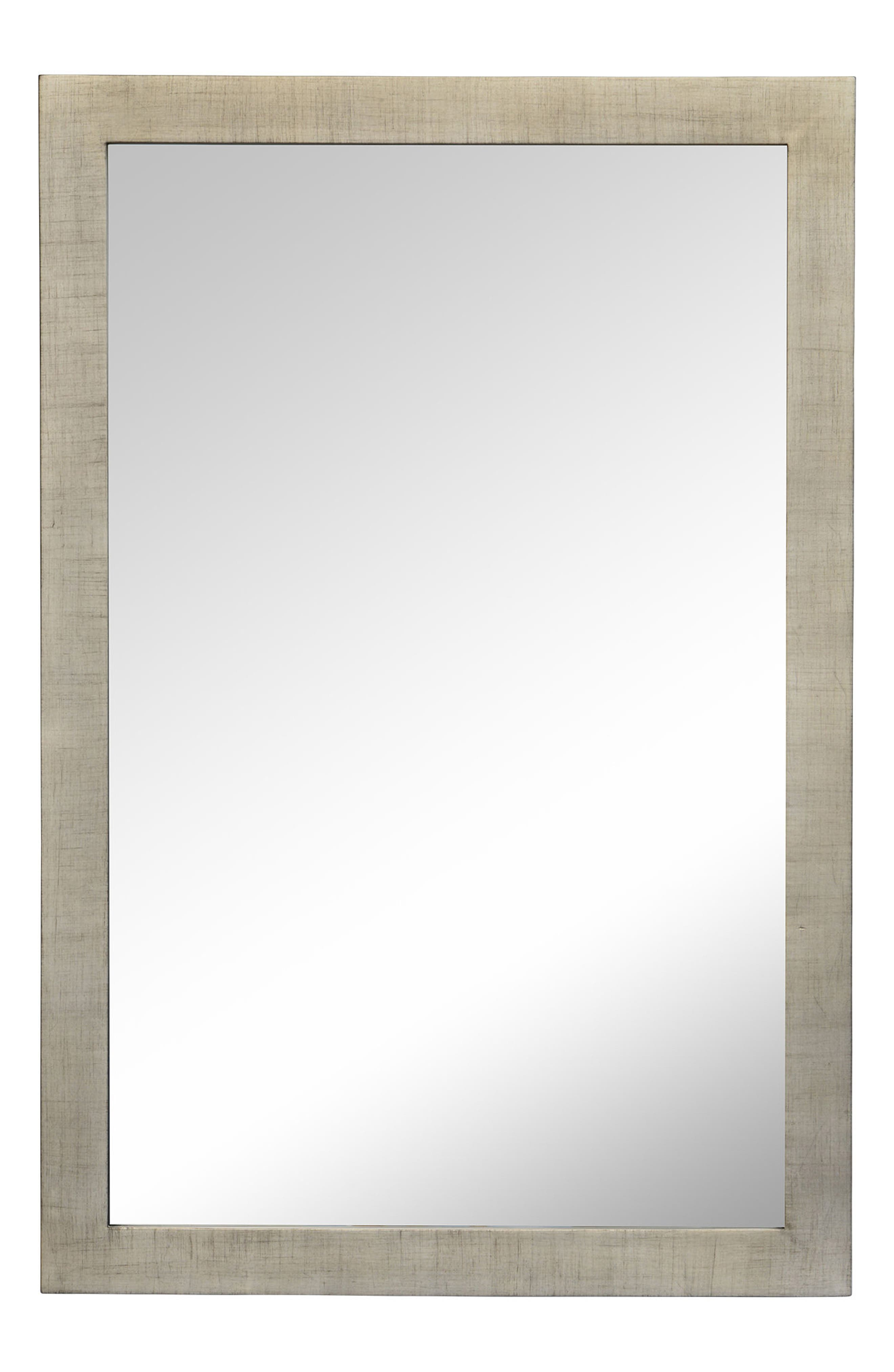 Emery Mirror,                             Main thumbnail 1, color,                             Silver Leaf