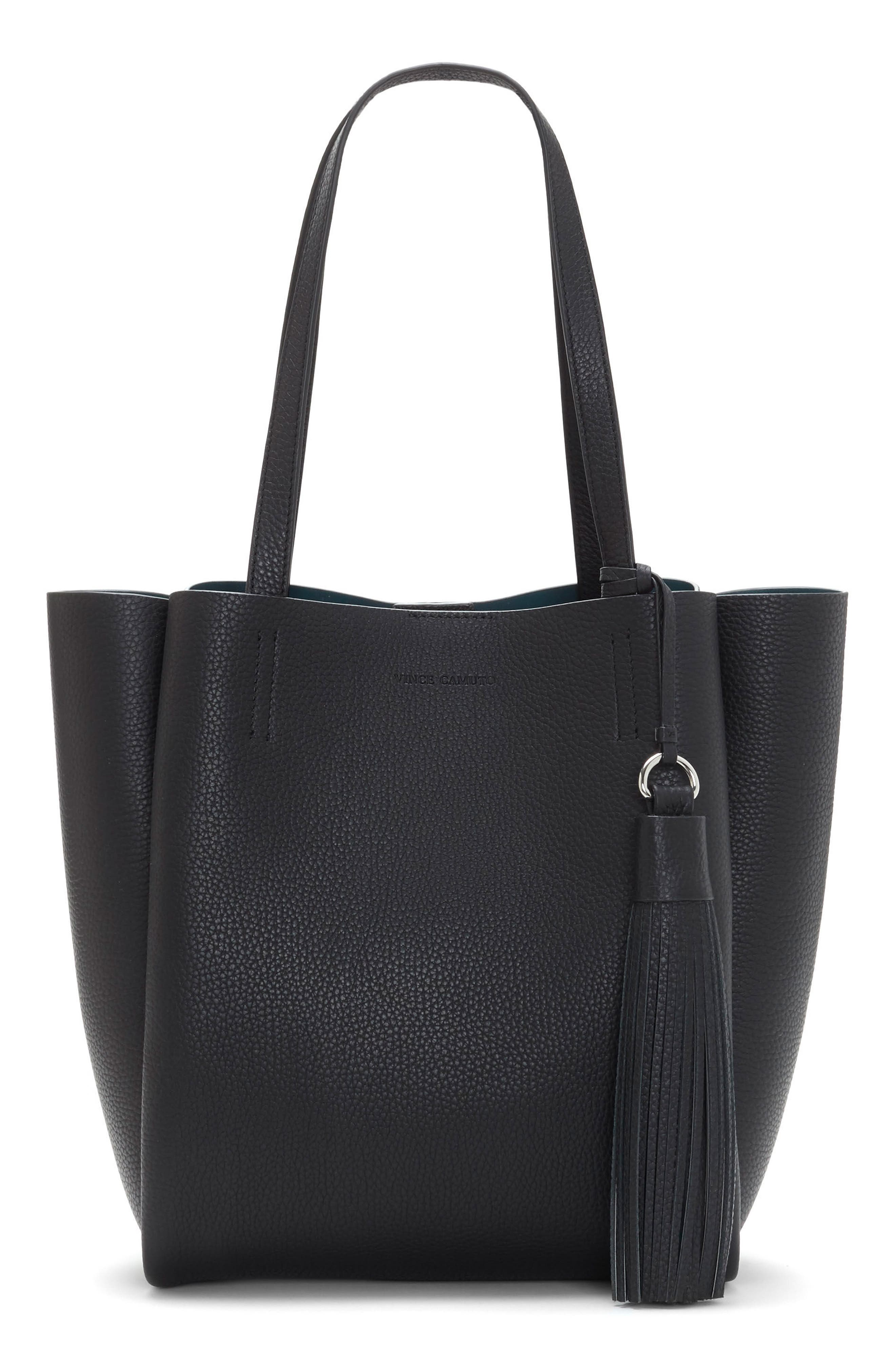 Vince Camuto Small Nylan Leather Tote