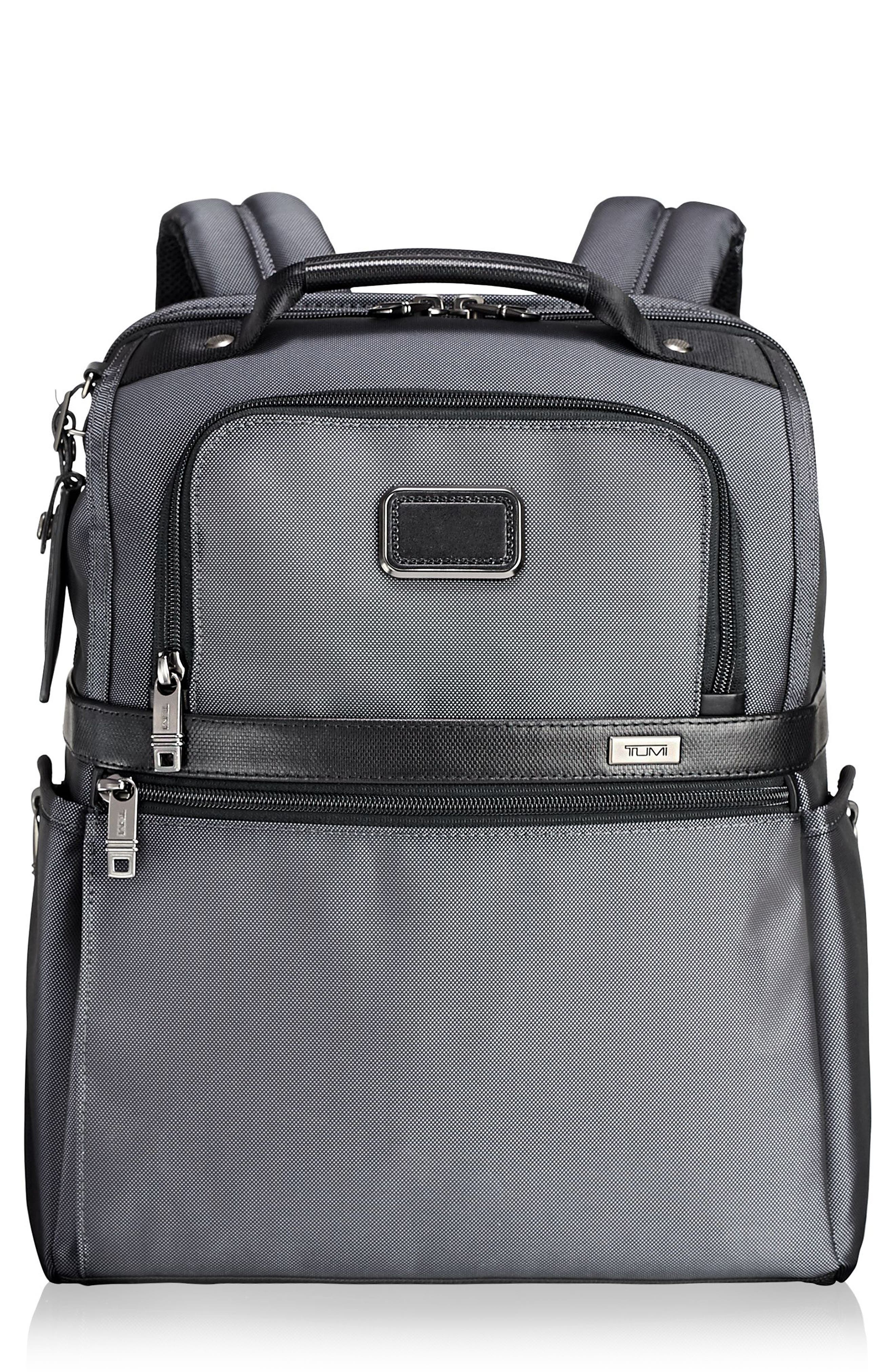 TUMI Alpha 2 - Brief Pack - Grey in Pewter