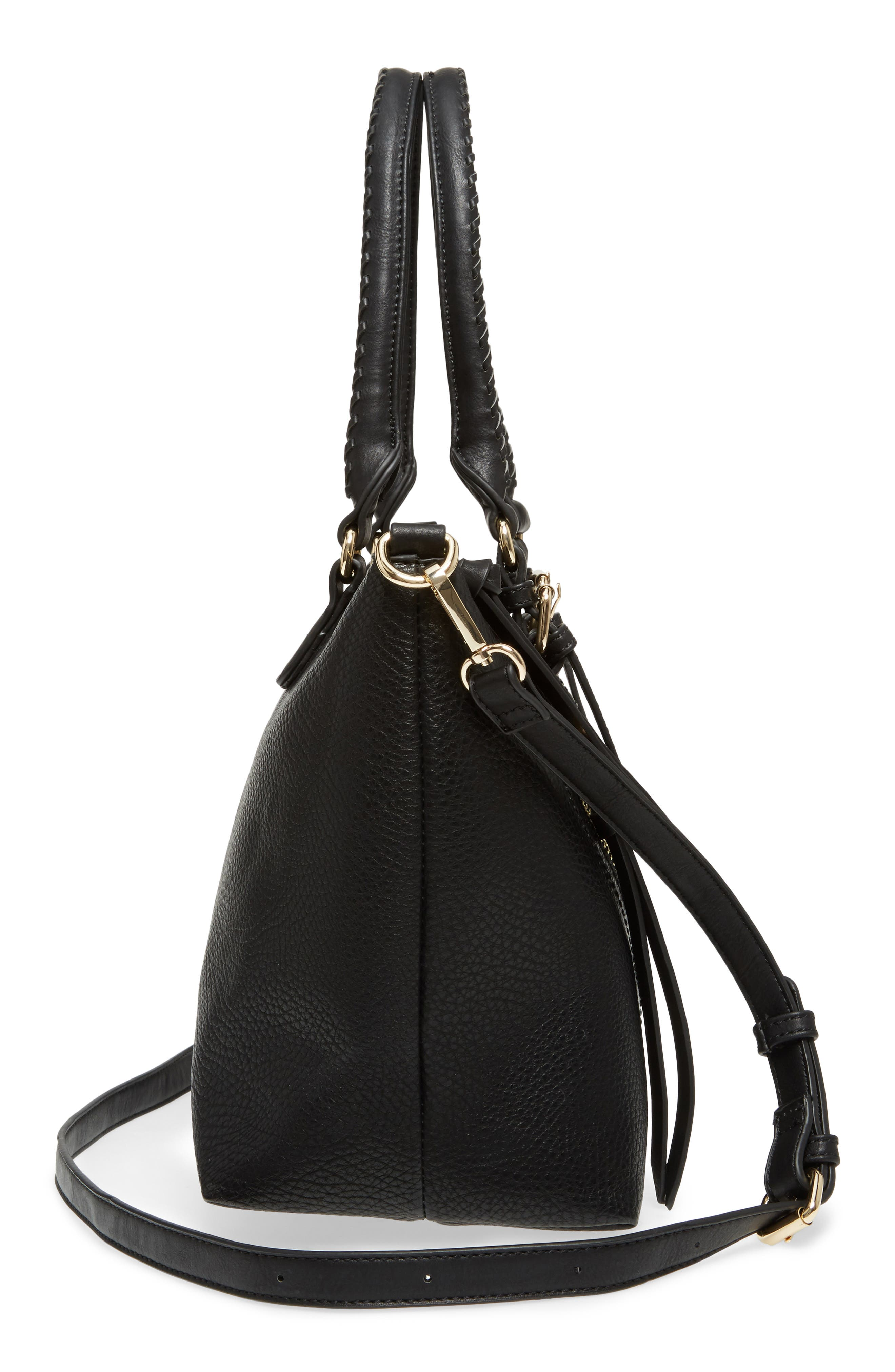 Alternate Image 5  - Sole Society Girard Faux Leather Satchel